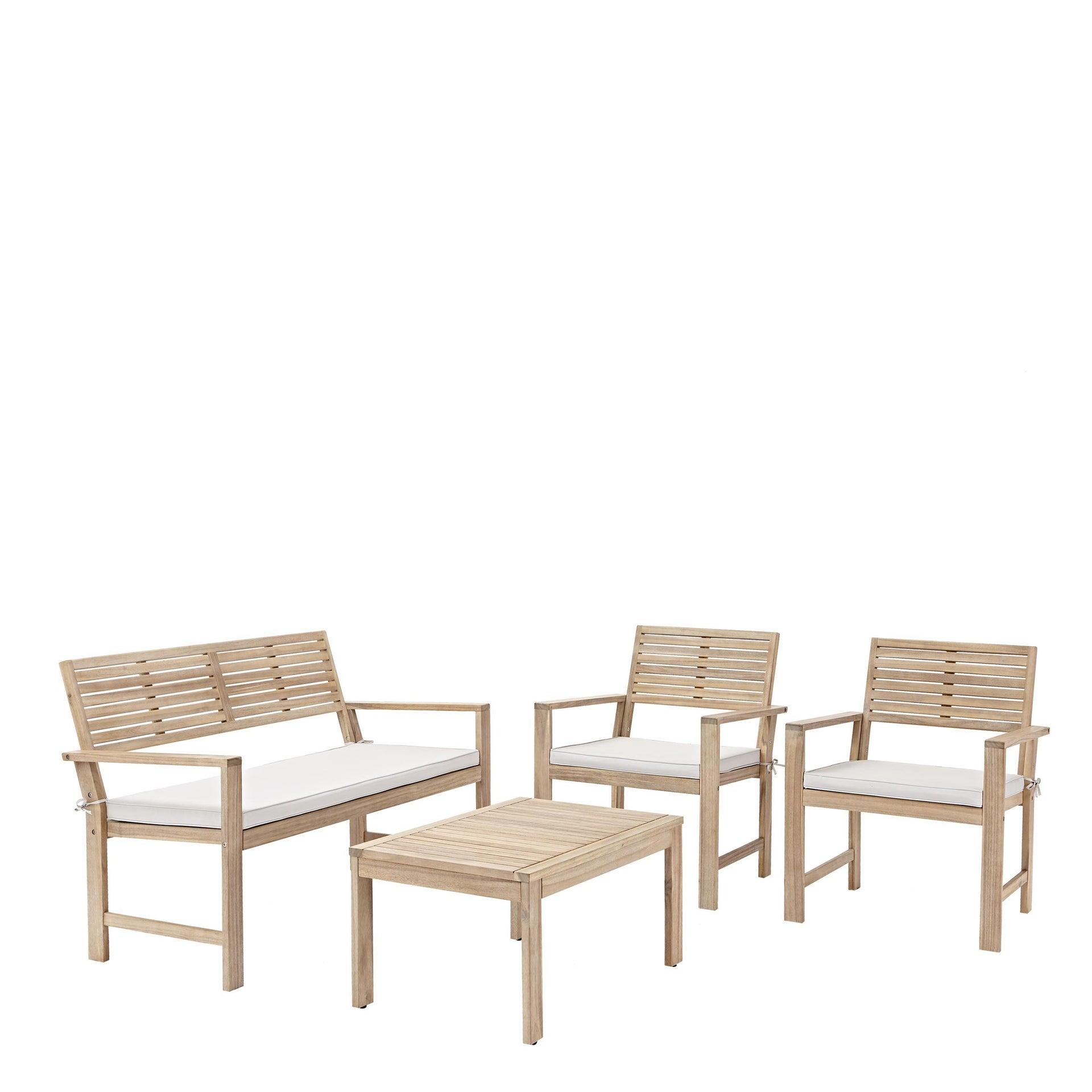 Coffee set rivestito in legno NATERIAL Solis per 4 persone - 23