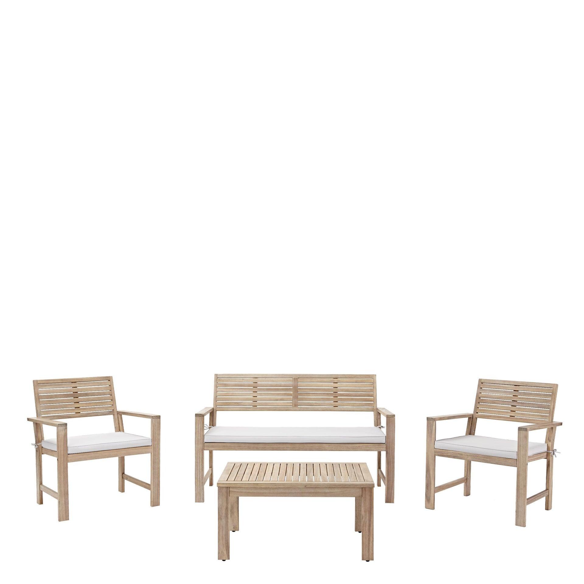Coffee set rivestito in legno NATERIAL Solis per 4 persone - 15