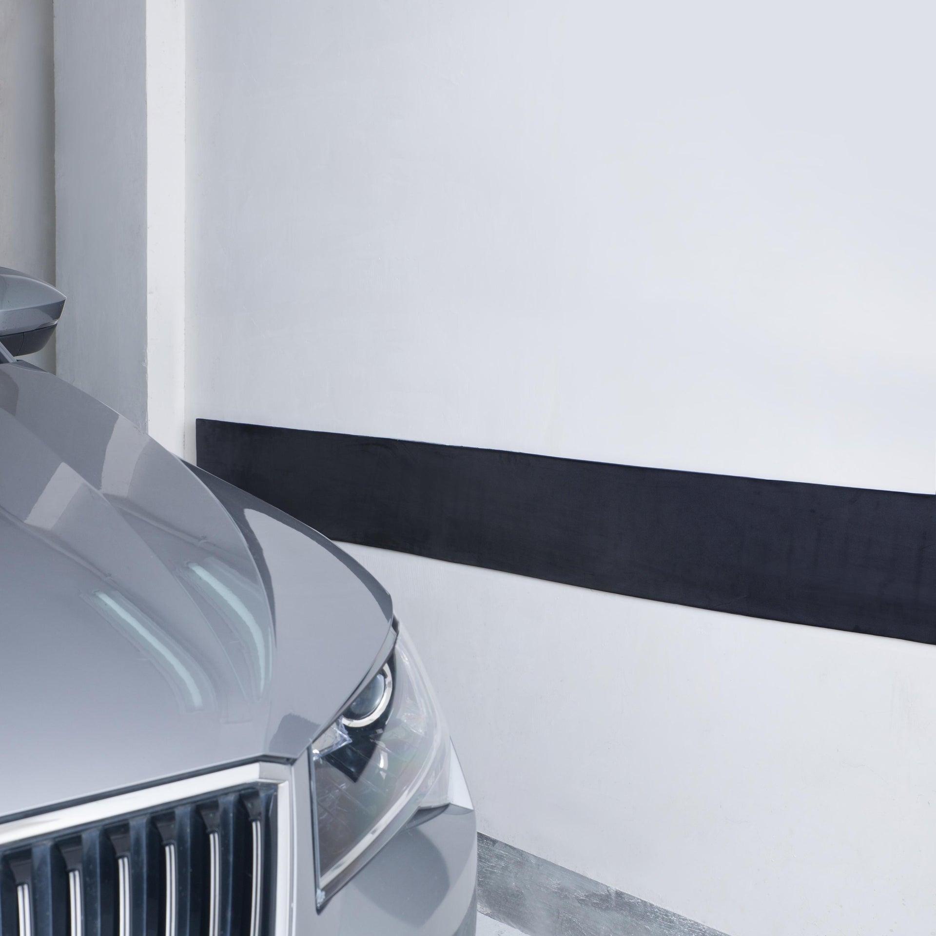 Protezione per garage in polietilene L 200 x H 200 cm nero - 1