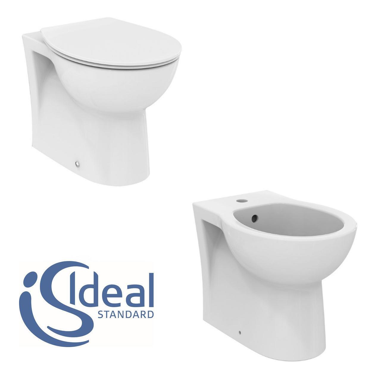 Coppia sanitari pavimento filo muro Miky New IDEAL STANDARD - 8