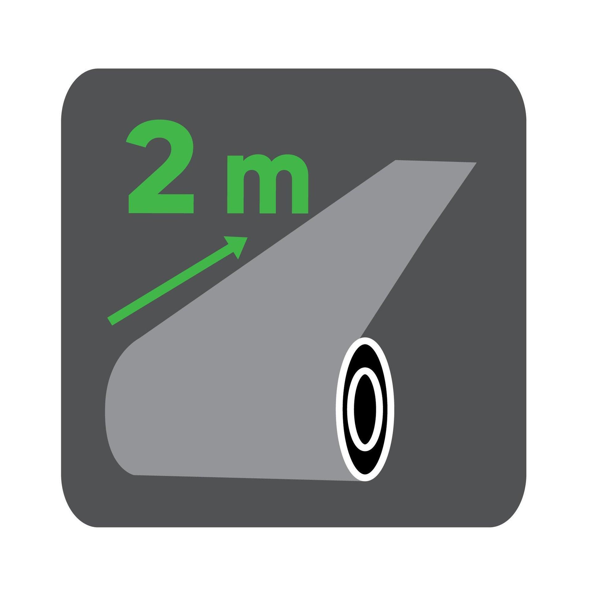 Protezione per garage in polietilene L 200 x H 200 cm nero - 6