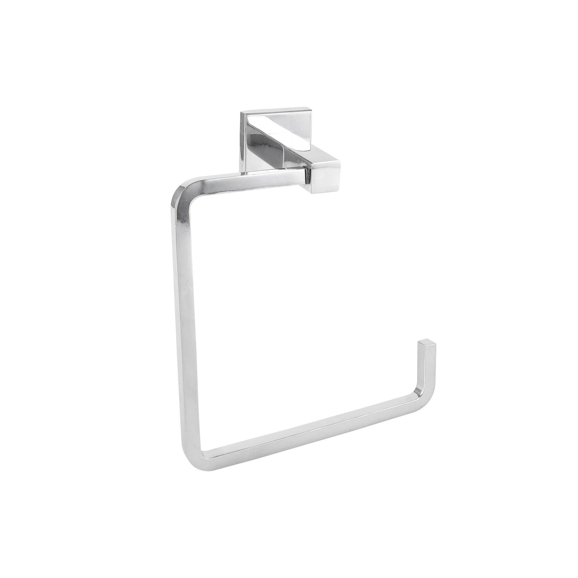 Porta salviette ad anello argento cromo lucido L 14.78 cm - 1