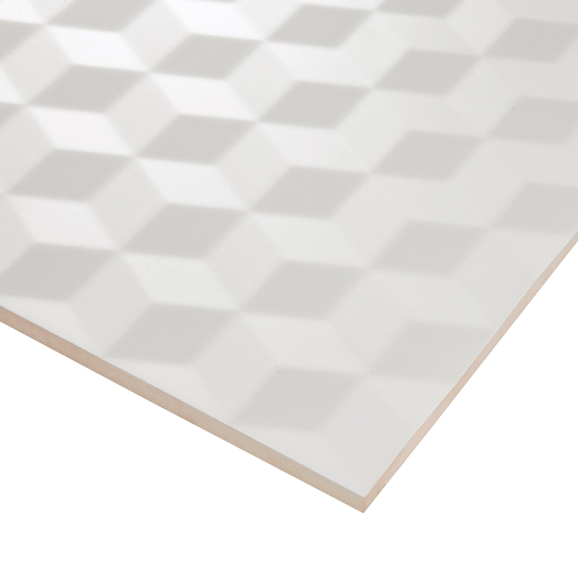 Piastrella per rivestimenti Arctic 30 x 60 cm sp. 9 mm bianco - 2