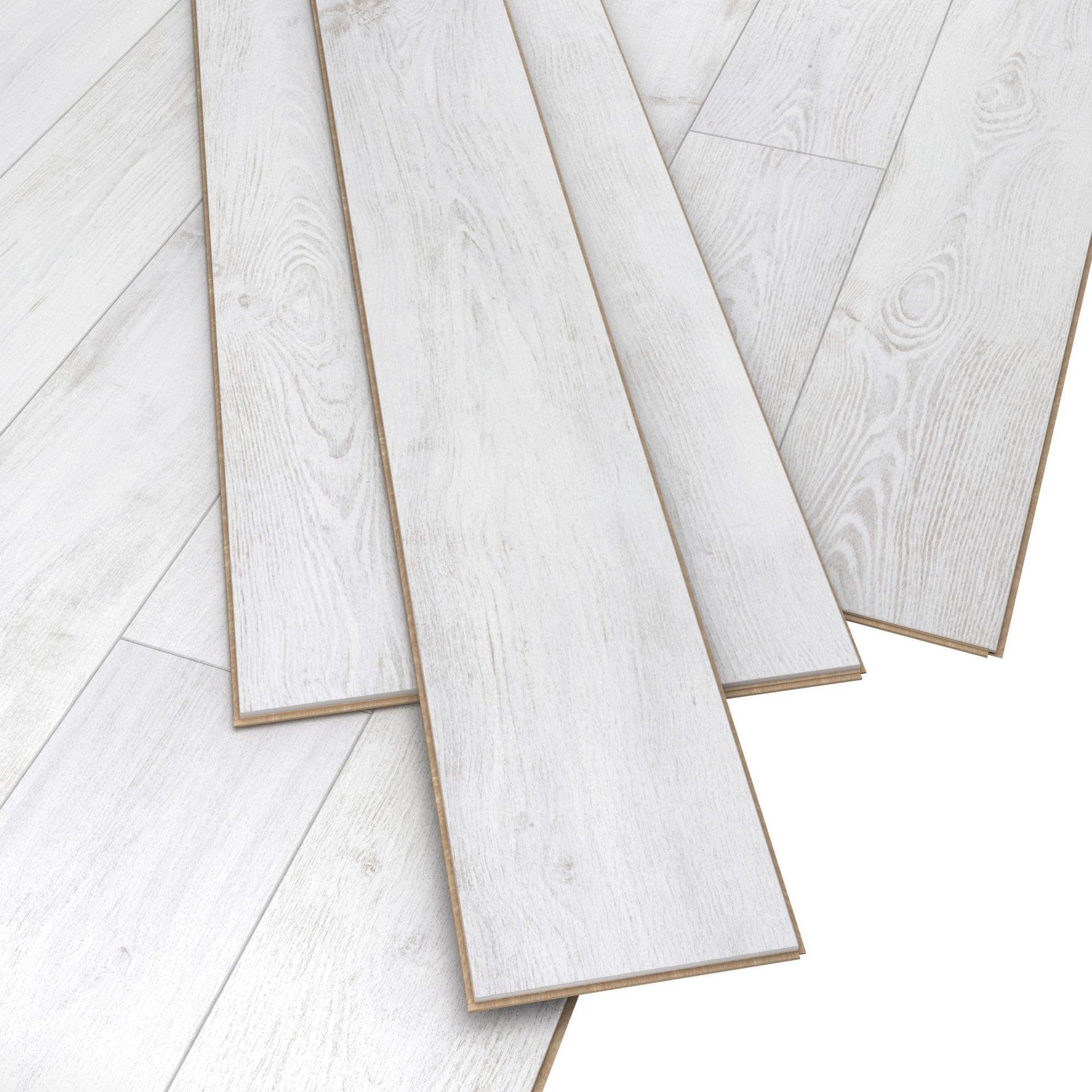 Pavimento laminato Nuiza Sp 8 mm beige - 4