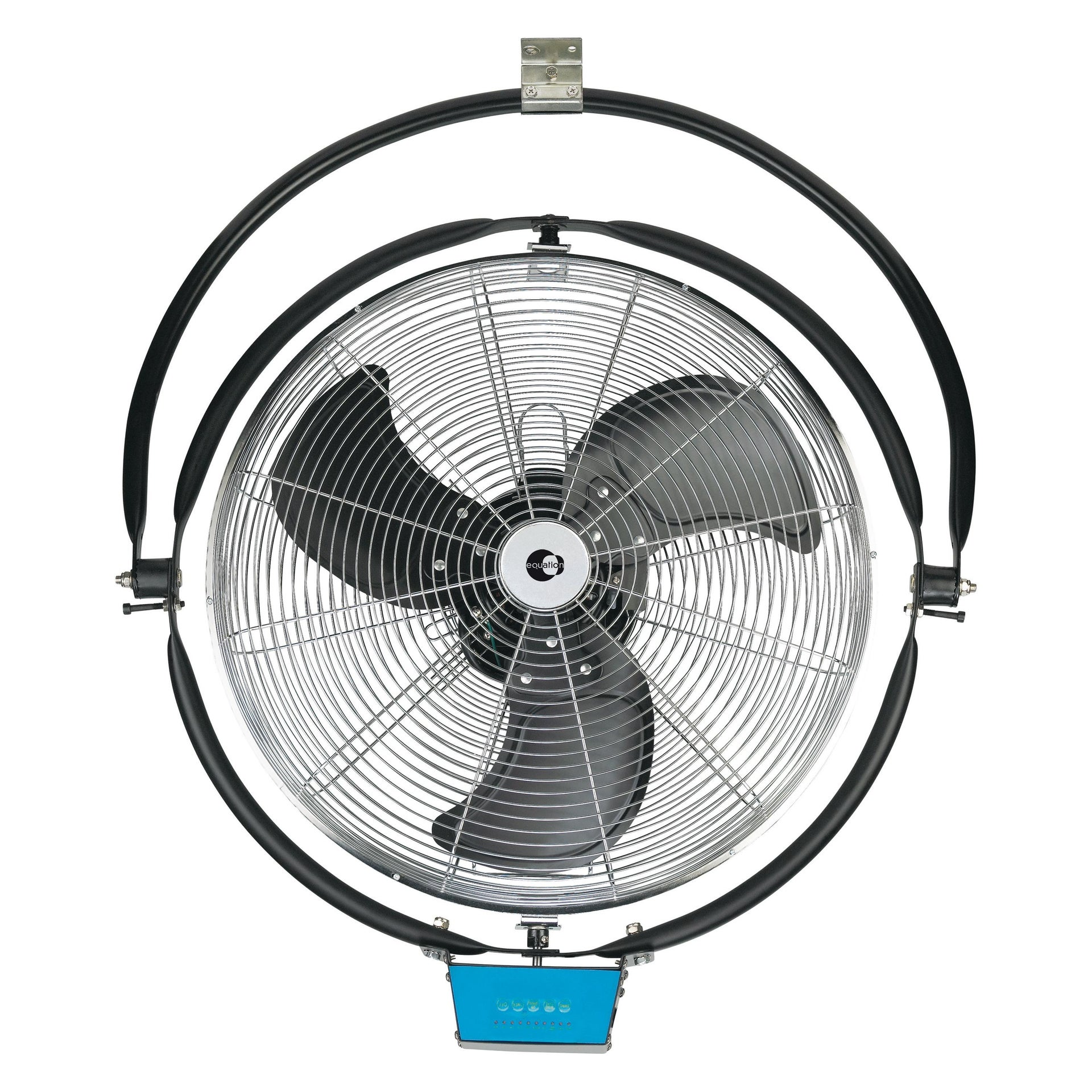 Ventilatore a parete EQUATION SFW1A500BOWRC cromo silver 111 W Ø 50 cm - 2