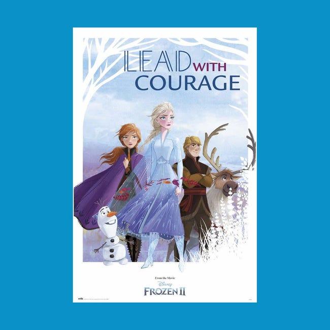 Poster Frozen II Courage 61x91.5 cm - 1