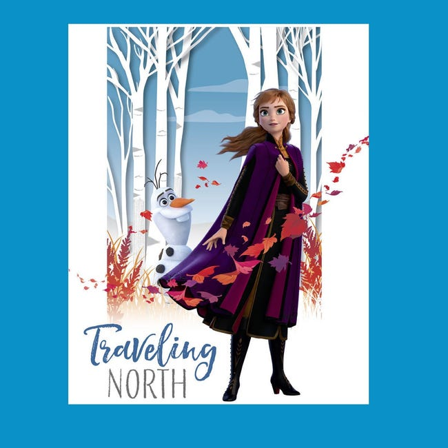 Poster Frozen II Travelling North 61x91.5 cm - 1