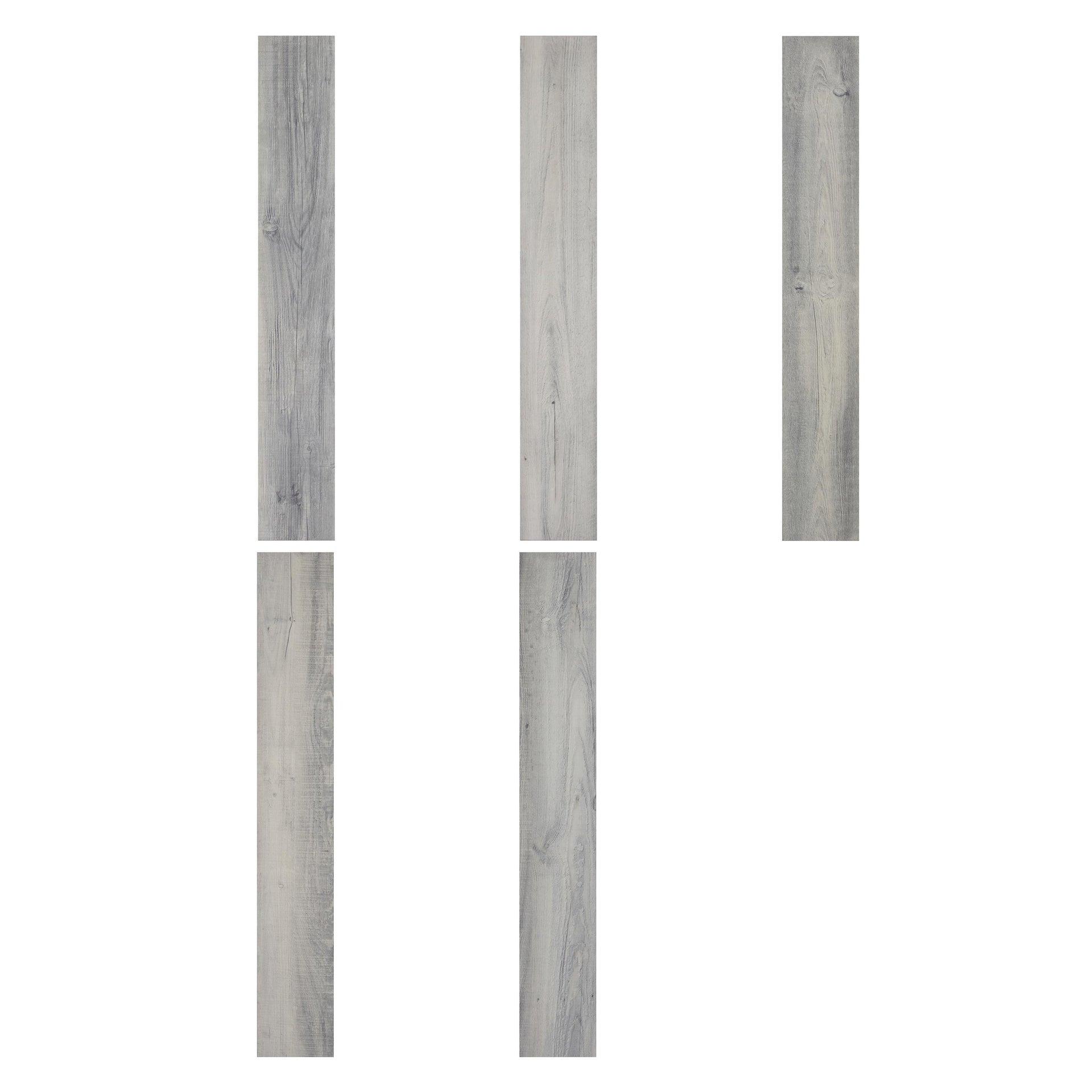 Plancia di vinile flottante clic+ Solor Sp 5 mm grigio / argento - 5