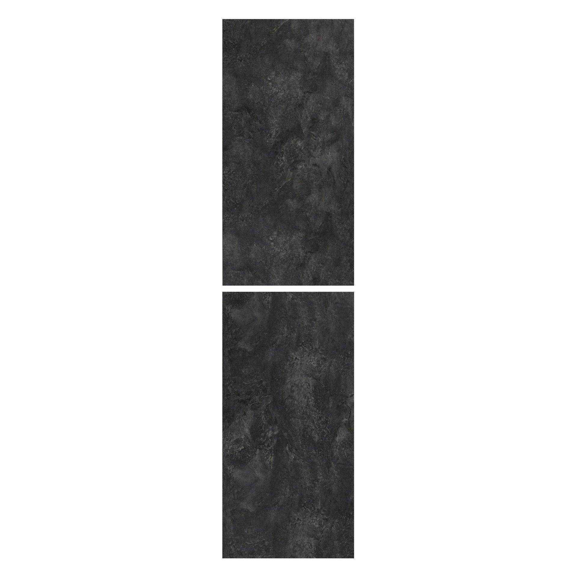 Pavimento PVC flottante clic+ Slate Sp 5 mm nero - 2