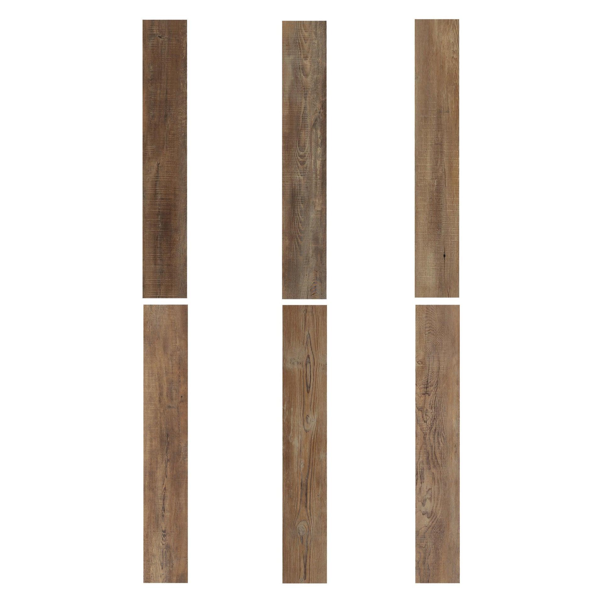 Pavimento PVC adesivo Tobacco Sp 2 mm marrone - 7