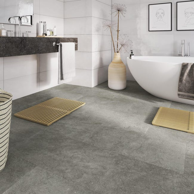 Pavimento PVC adesivo Kangean Sp 2 mm beige - 1