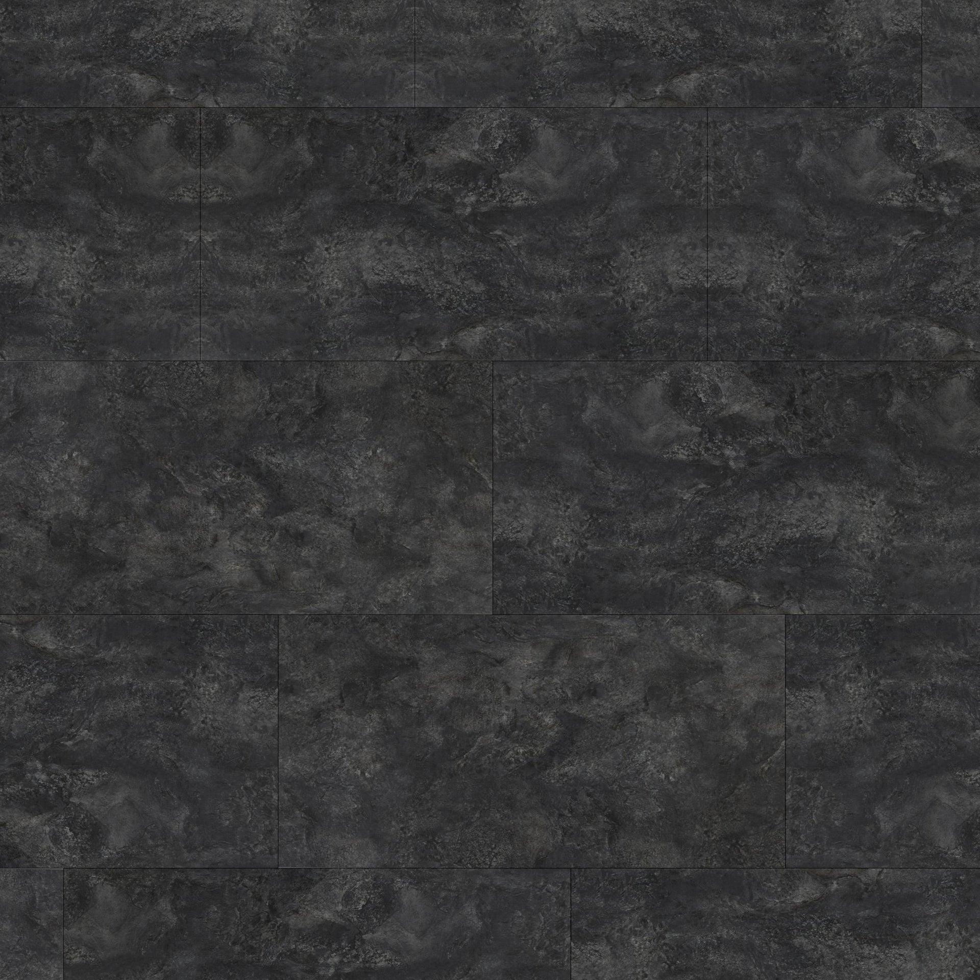 Pavimento PVC flottante clic+ Slate Sp 5 mm nero - 4