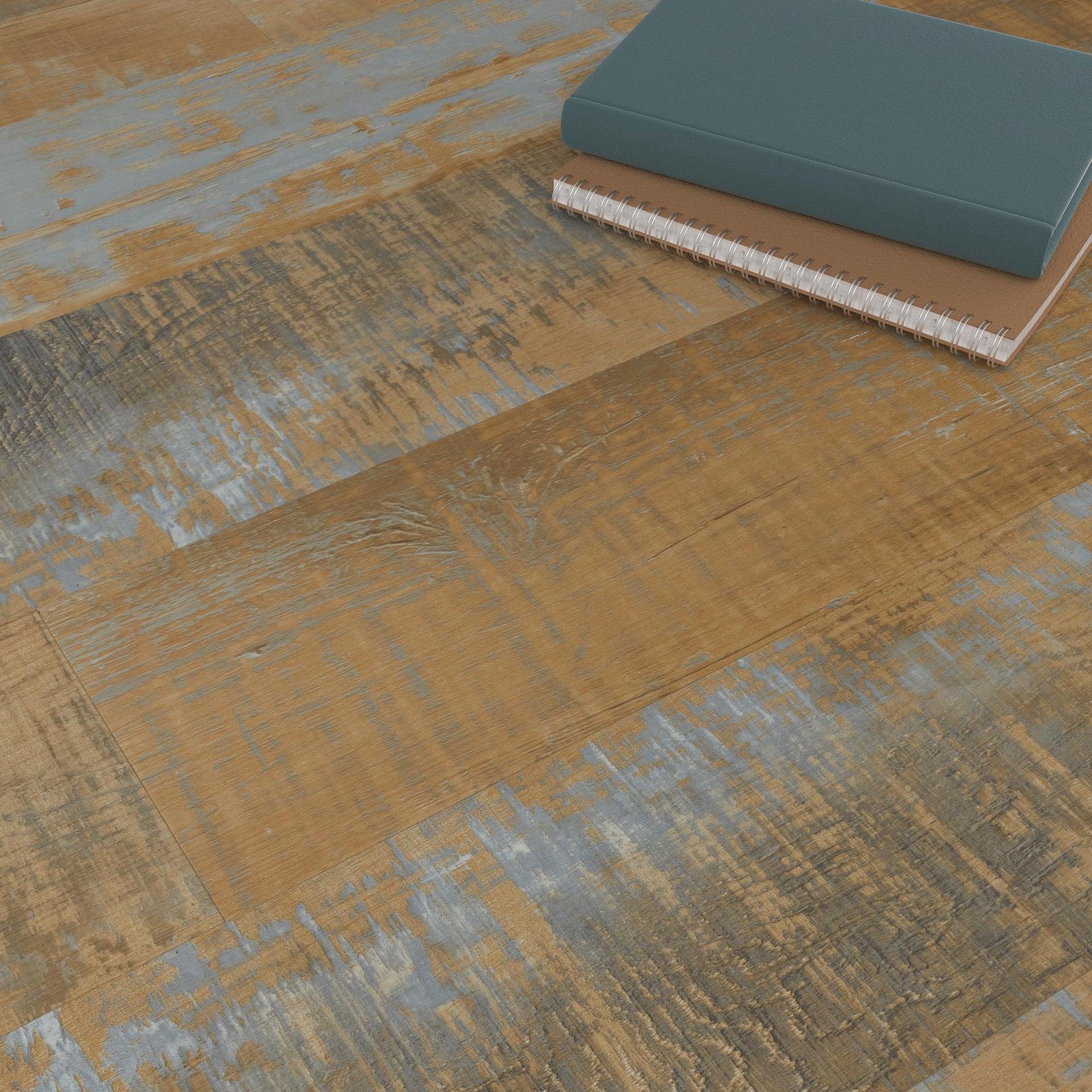 Pavimento PVC adesivo Mungo Sp 2 mm giallo / dorato - 4