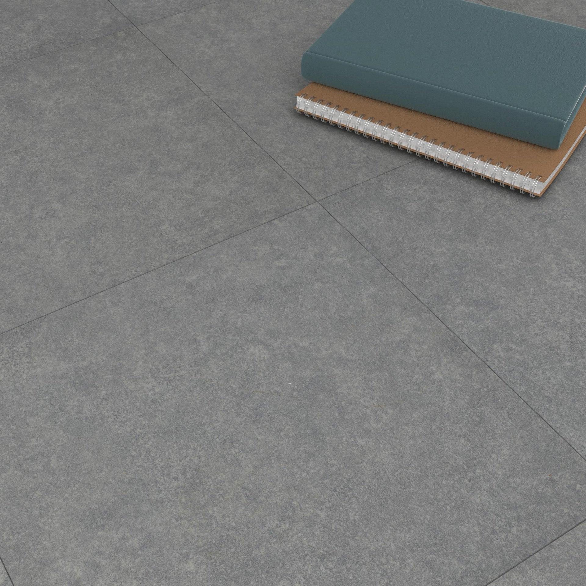 Pavimento PVC adesivo Kamet Sp 1.2 mm grigio / argento - 4