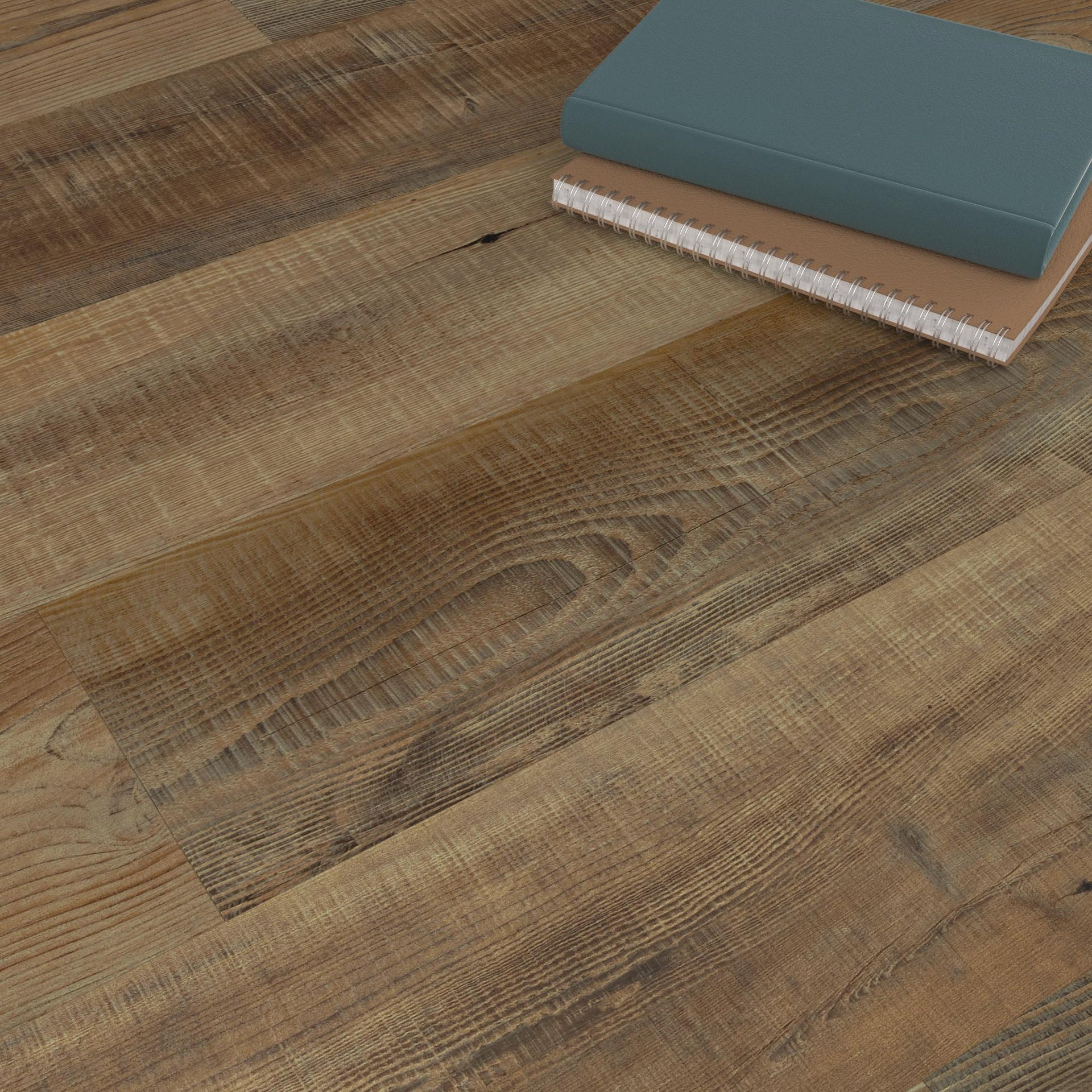 Pavimento PVC adesivo Tobacco Sp 2 mm marrone - 2