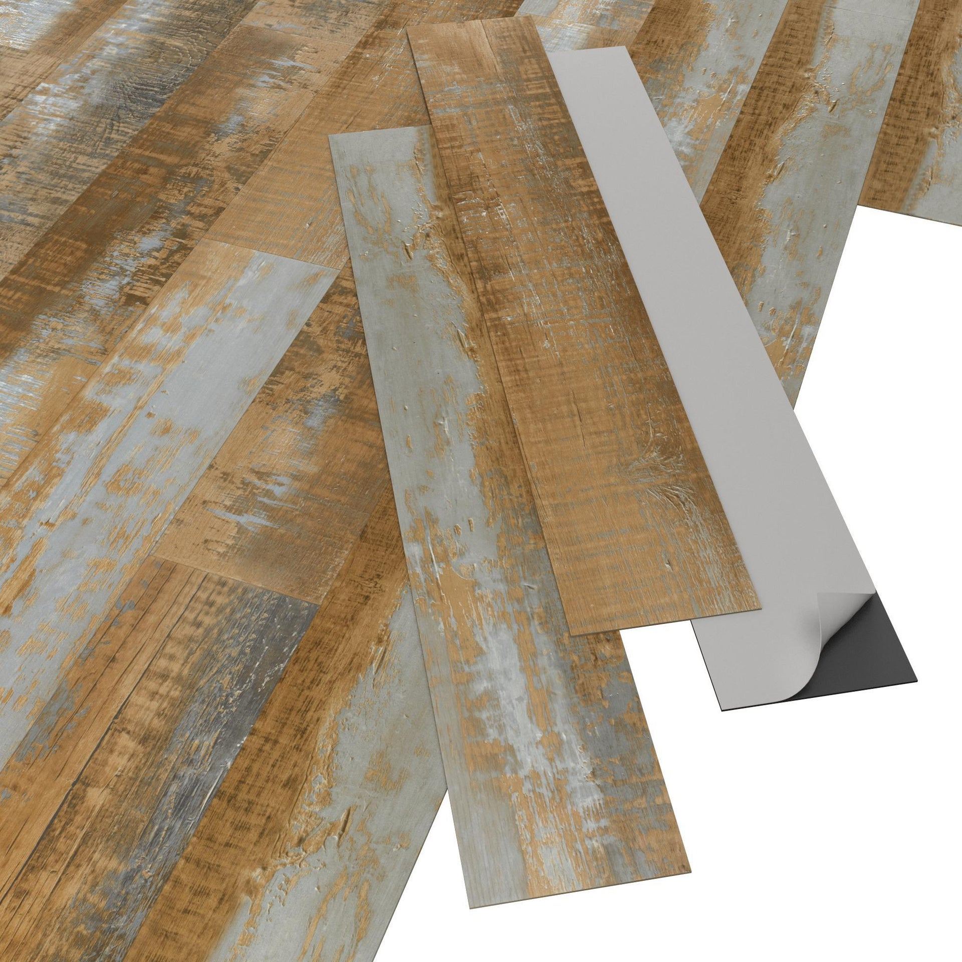 Pavimento PVC adesivo Mungo Sp 2 mm giallo / dorato - 6