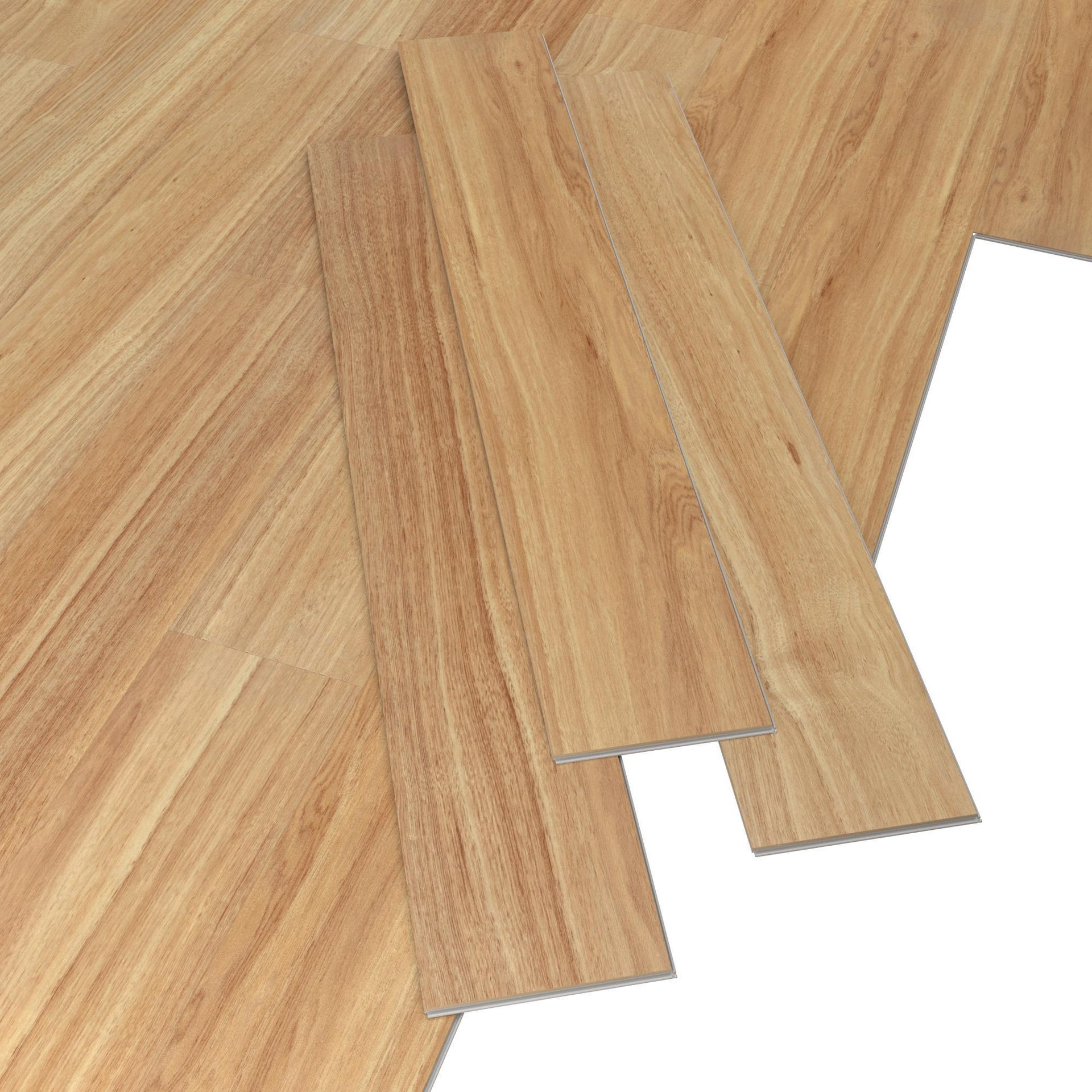 Pavimento PVC flottante clic+ Minto Sp 4 mm marrone - 6