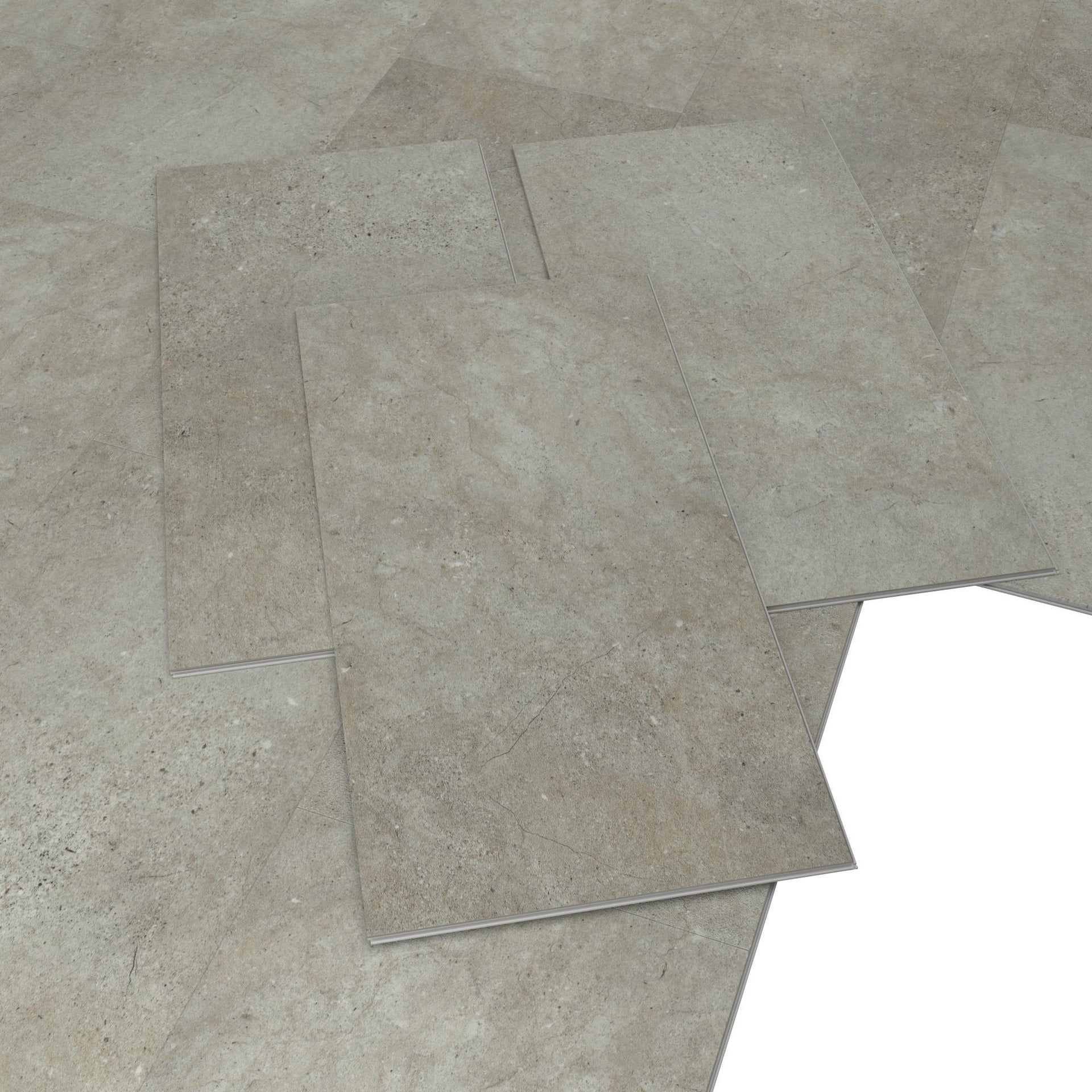 Pavimento PVC flottante clic+ Jaraoso Sp 4.2 mm beige - 4