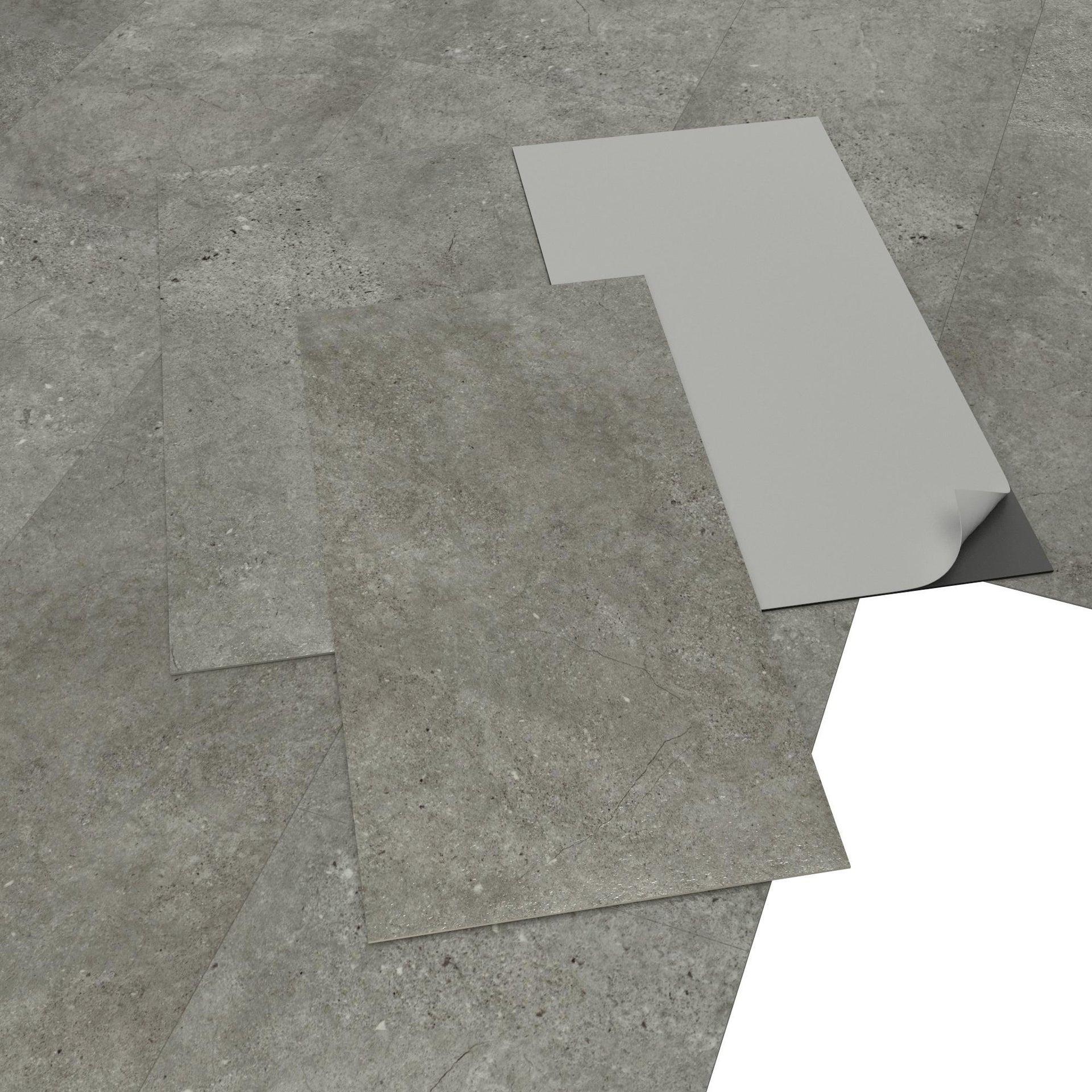 Pavimento PVC adesivo Kangean Sp 2 mm beige - 3