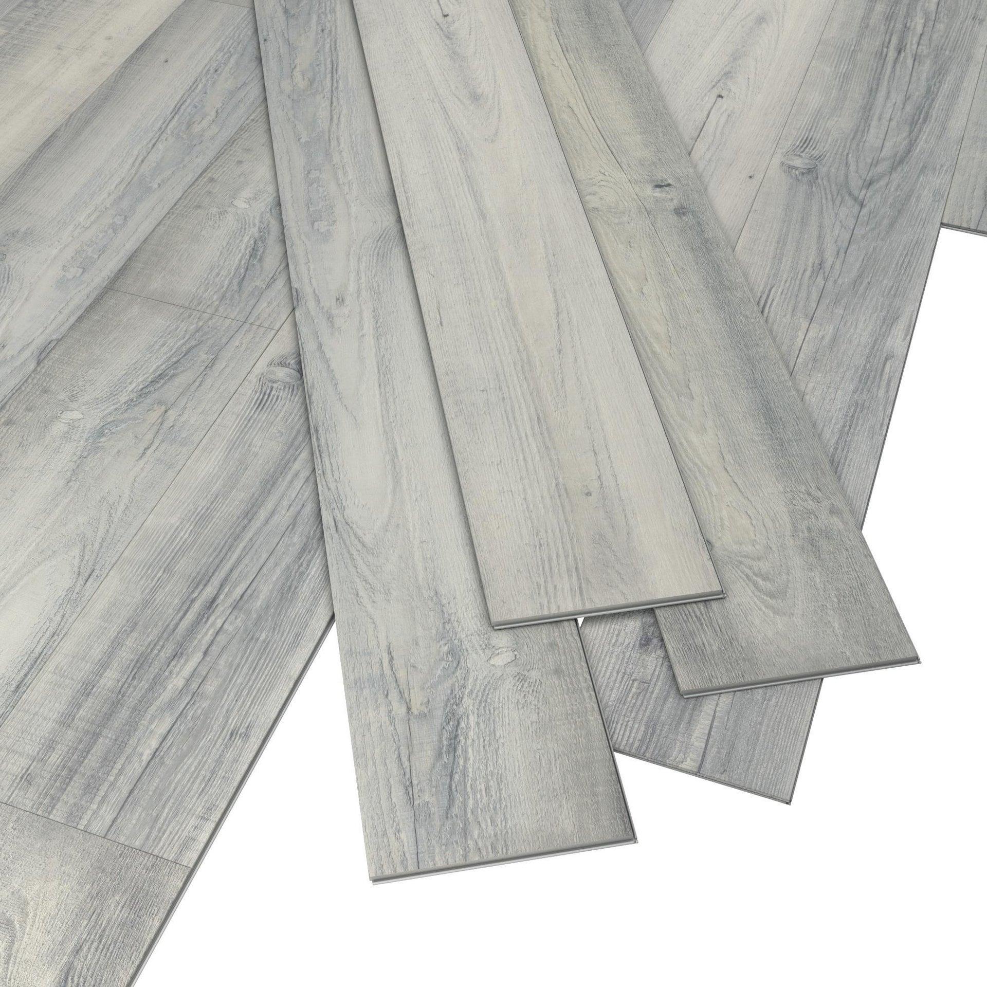 Plancia di vinile flottante clic+ Solor Sp 5 mm grigio / argento - 4