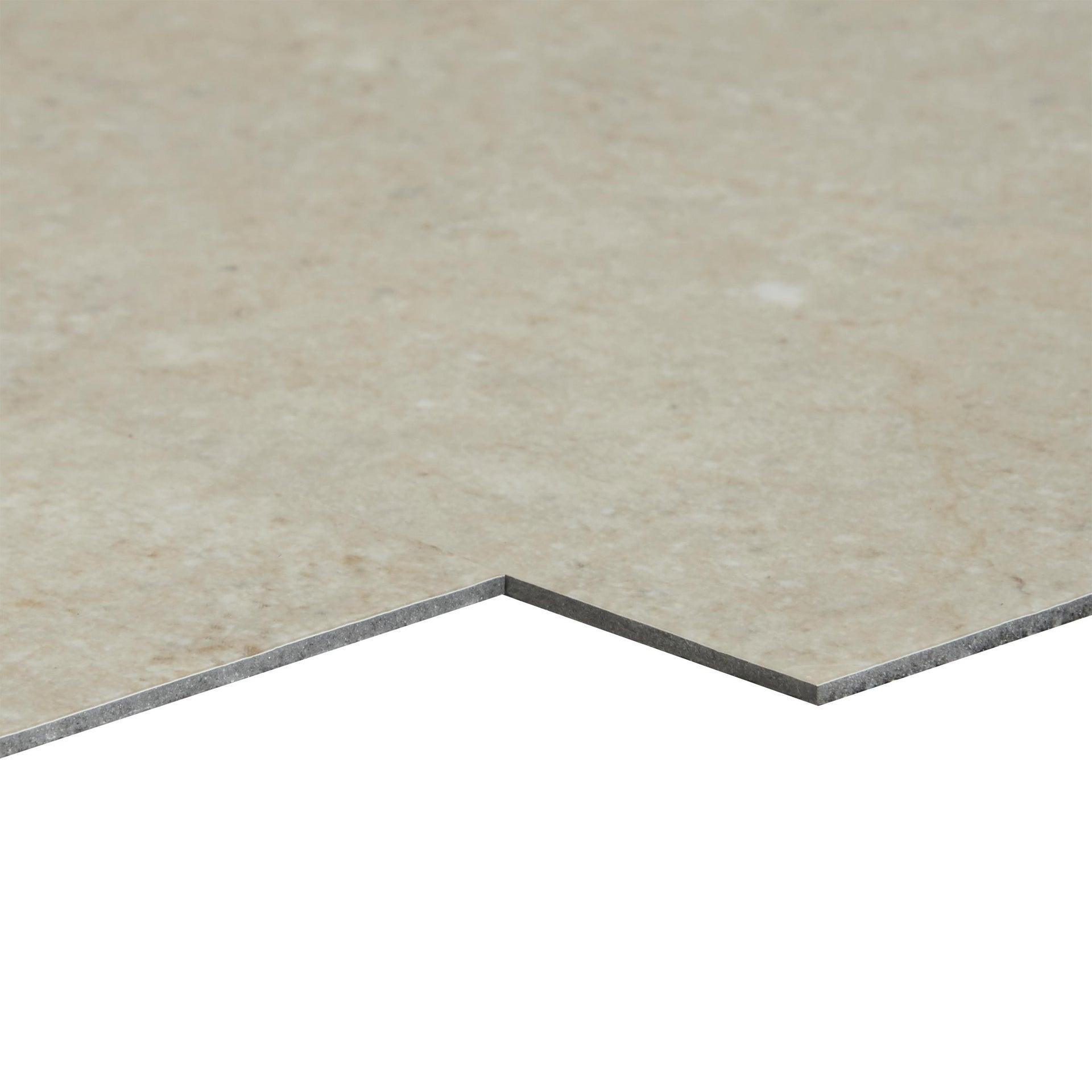 Pavimento PVC adesivo Limestone Sp 2 mm grigio / argento - 12