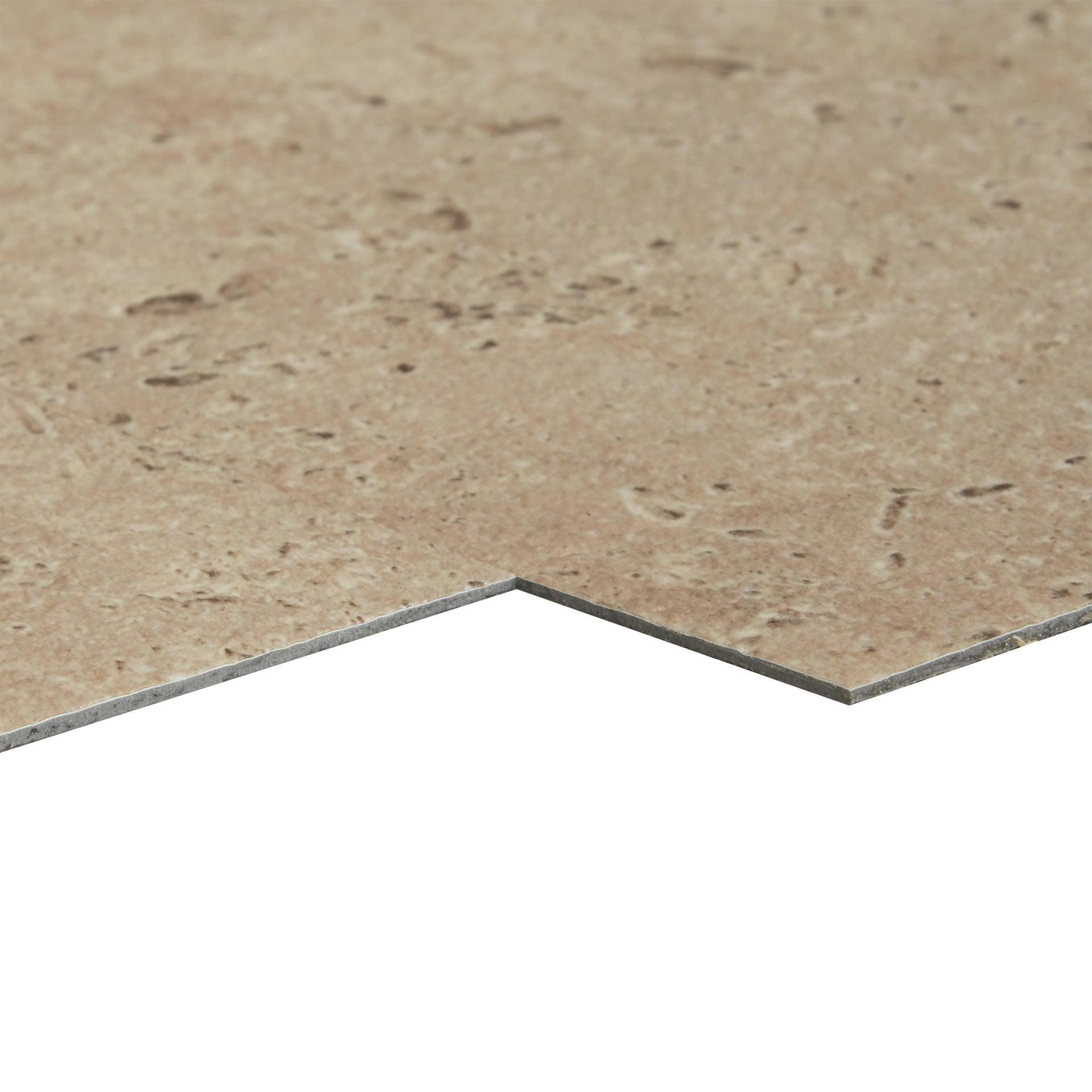 Pavimento PVC adesivo Travertino Sp 1.5 mm beige - 3