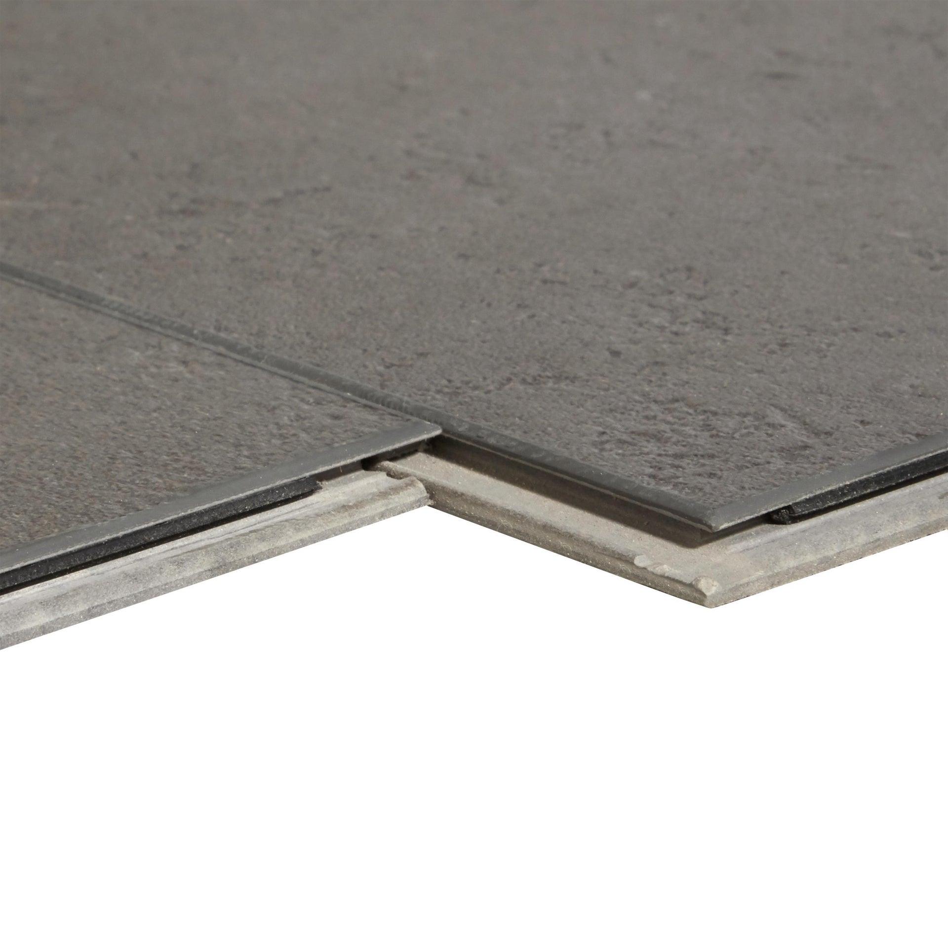 Pavimento PVC flottante clic+ Juke Sp 5 mm grigio / argento - 3
