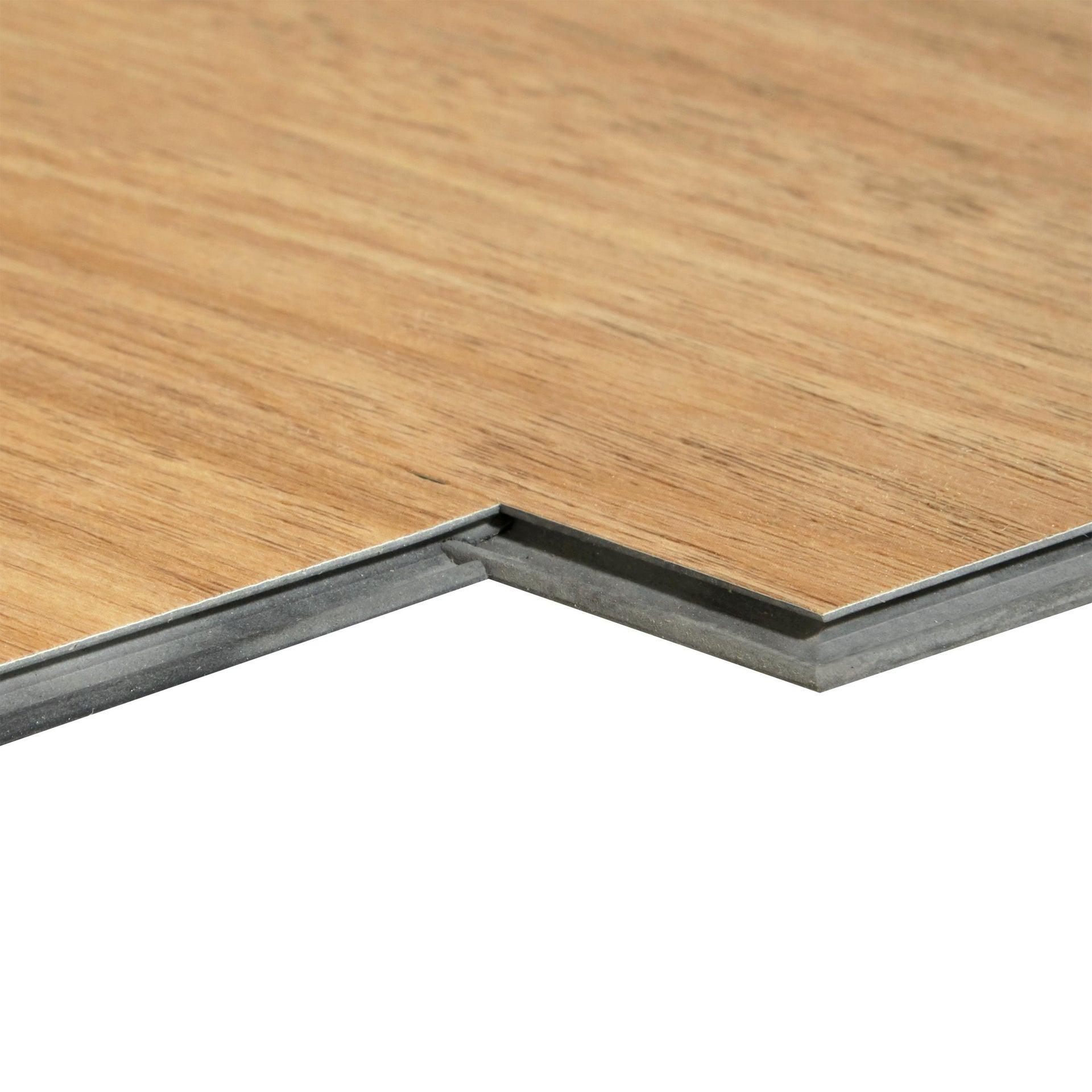 Pavimento PVC flottante clic+ Minto Sp 4 mm marrone - 3