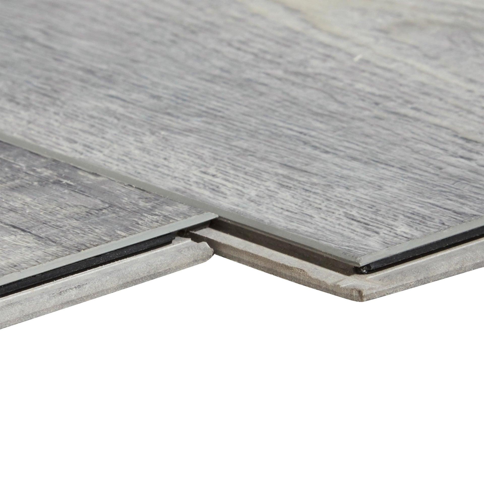 Plancia di vinile flottante clic+ Solor Sp 5 mm grigio / argento - 3