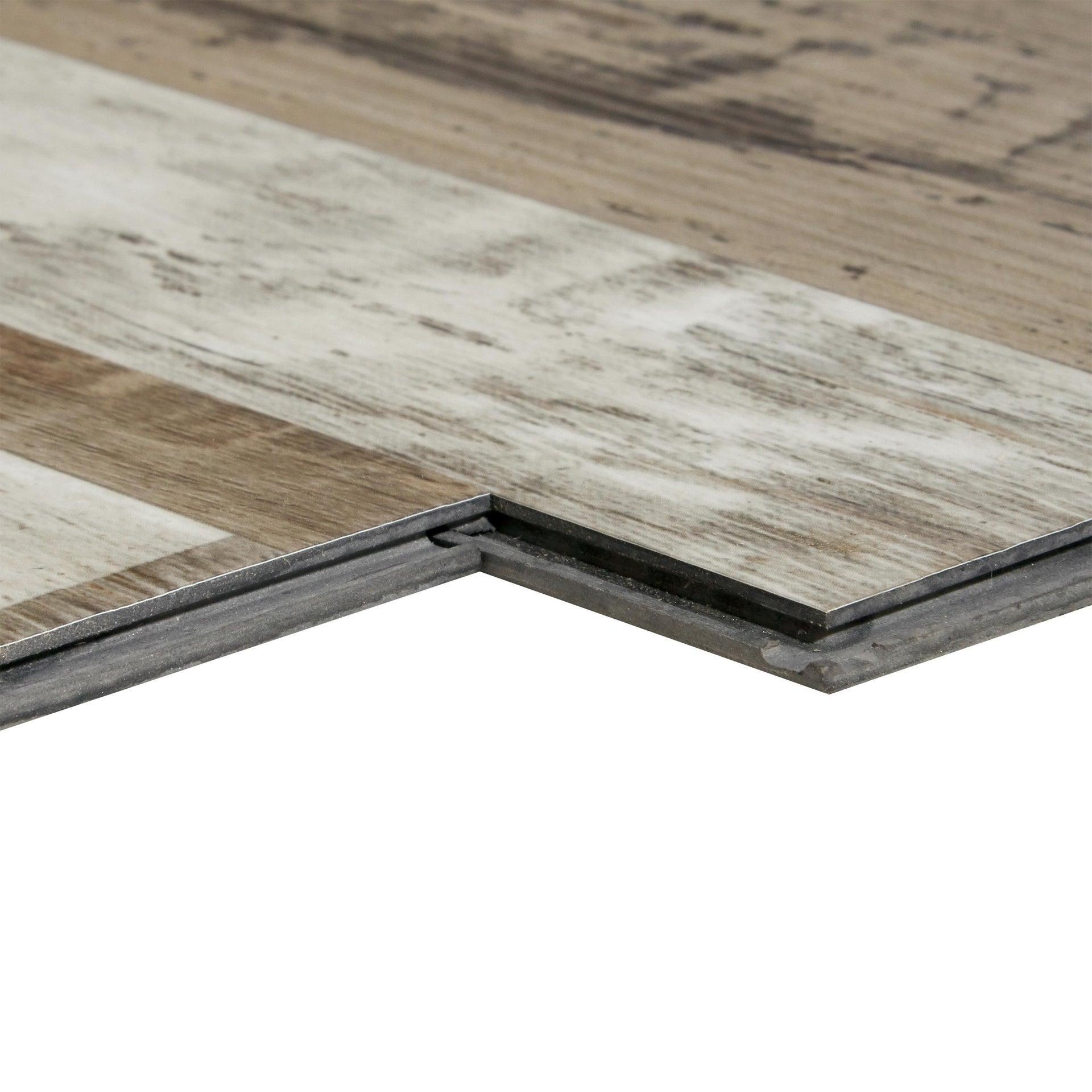Pavimento PVC flottante clic+ Theek Sp 4 mm multicolore - 6