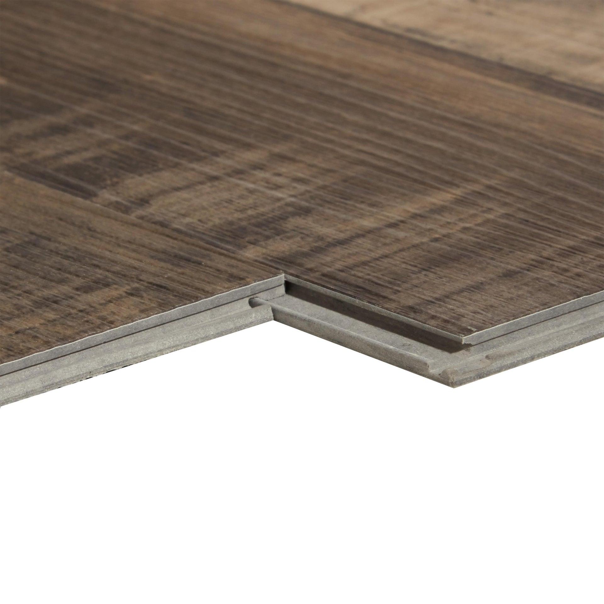 Pavimento PVC flottante clic+ Tantalu Sp 4.2 mm multicolore - 3