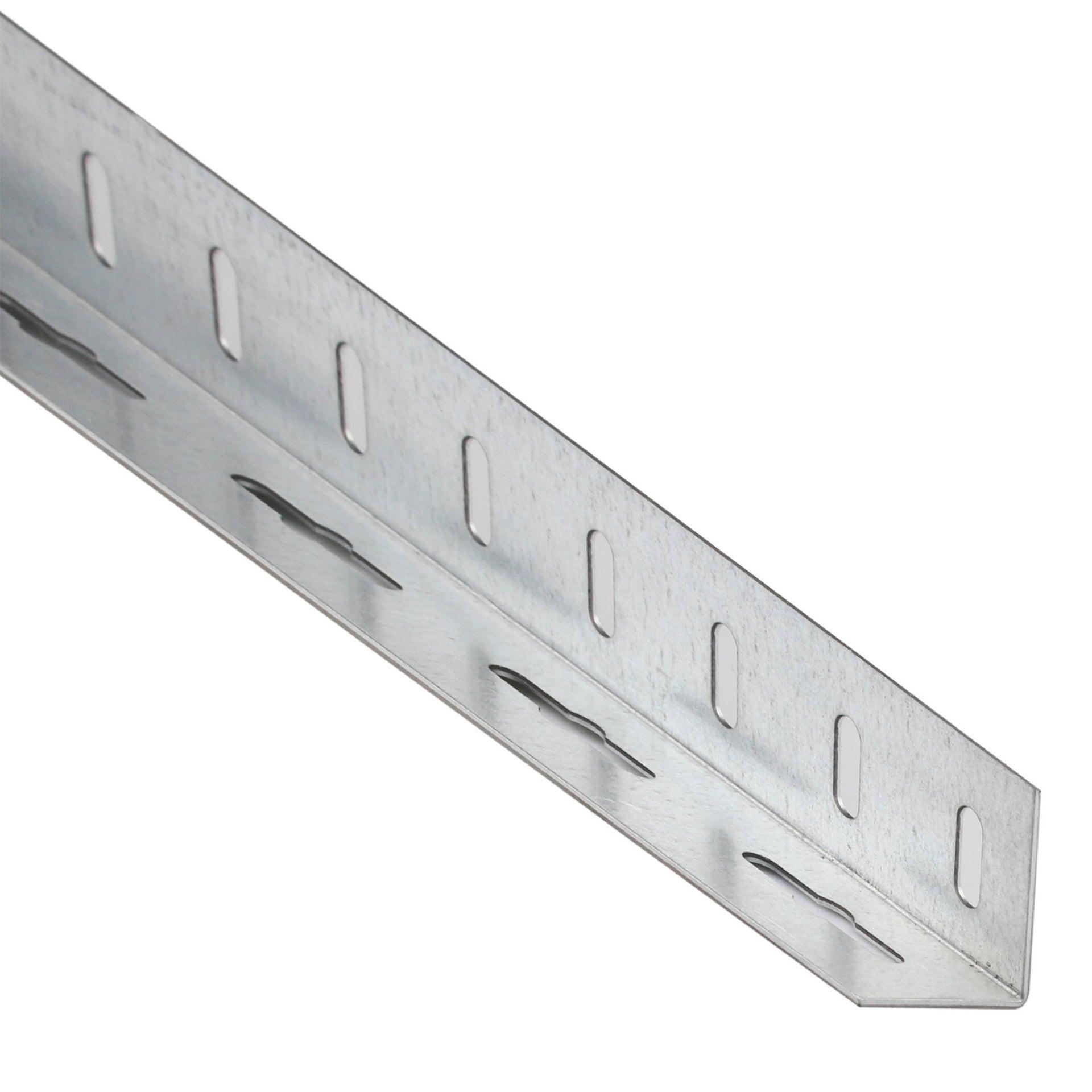 Profilo angolare simmetrico STANDERS in acciaio 2.6 m x 3.55 cm nero - 1