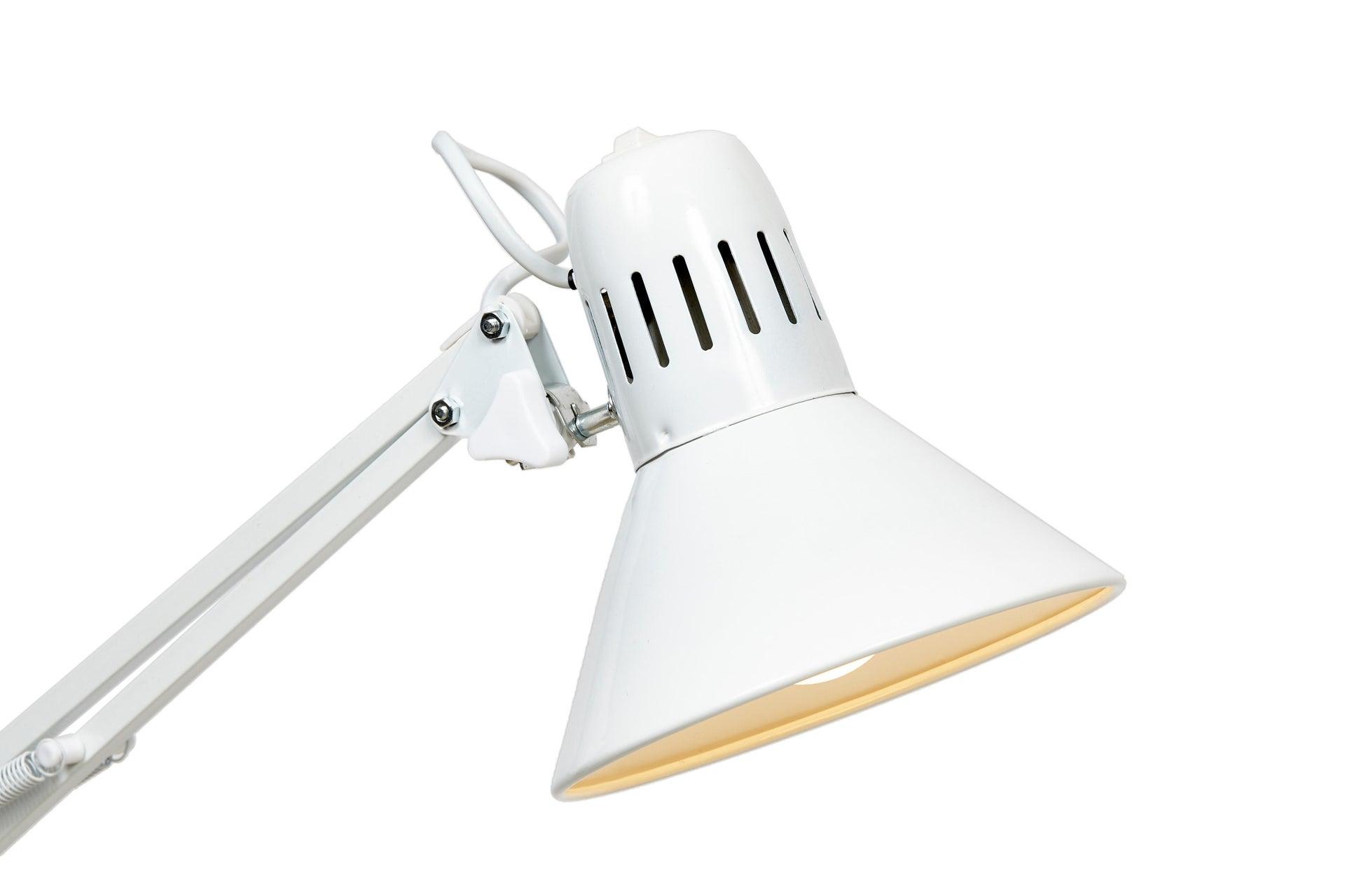 Lampada da scrivania Industriale Firmo bianco , in metallo, EGLO - 13