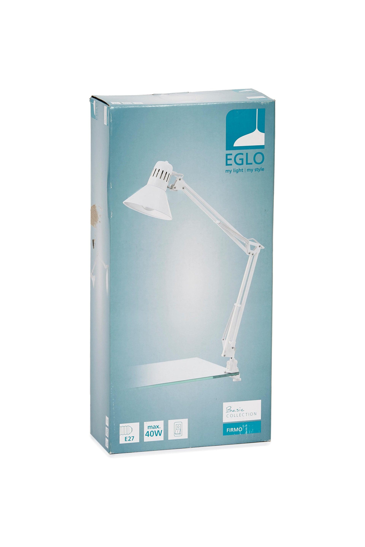 Lampada da scrivania Industriale Firmo bianco , in metallo, EGLO - 11