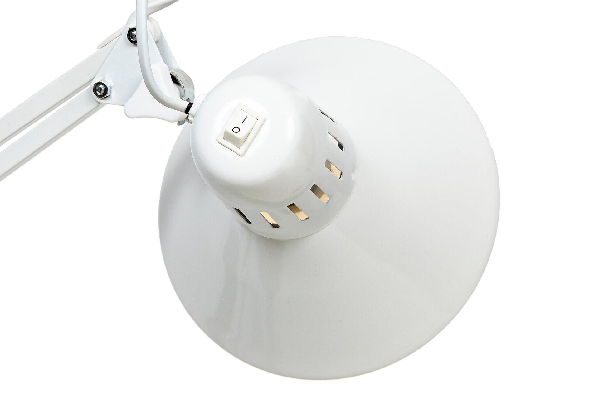 Lampada da scrivania Industriale Firmo bianco , in metallo, EGLO - 10