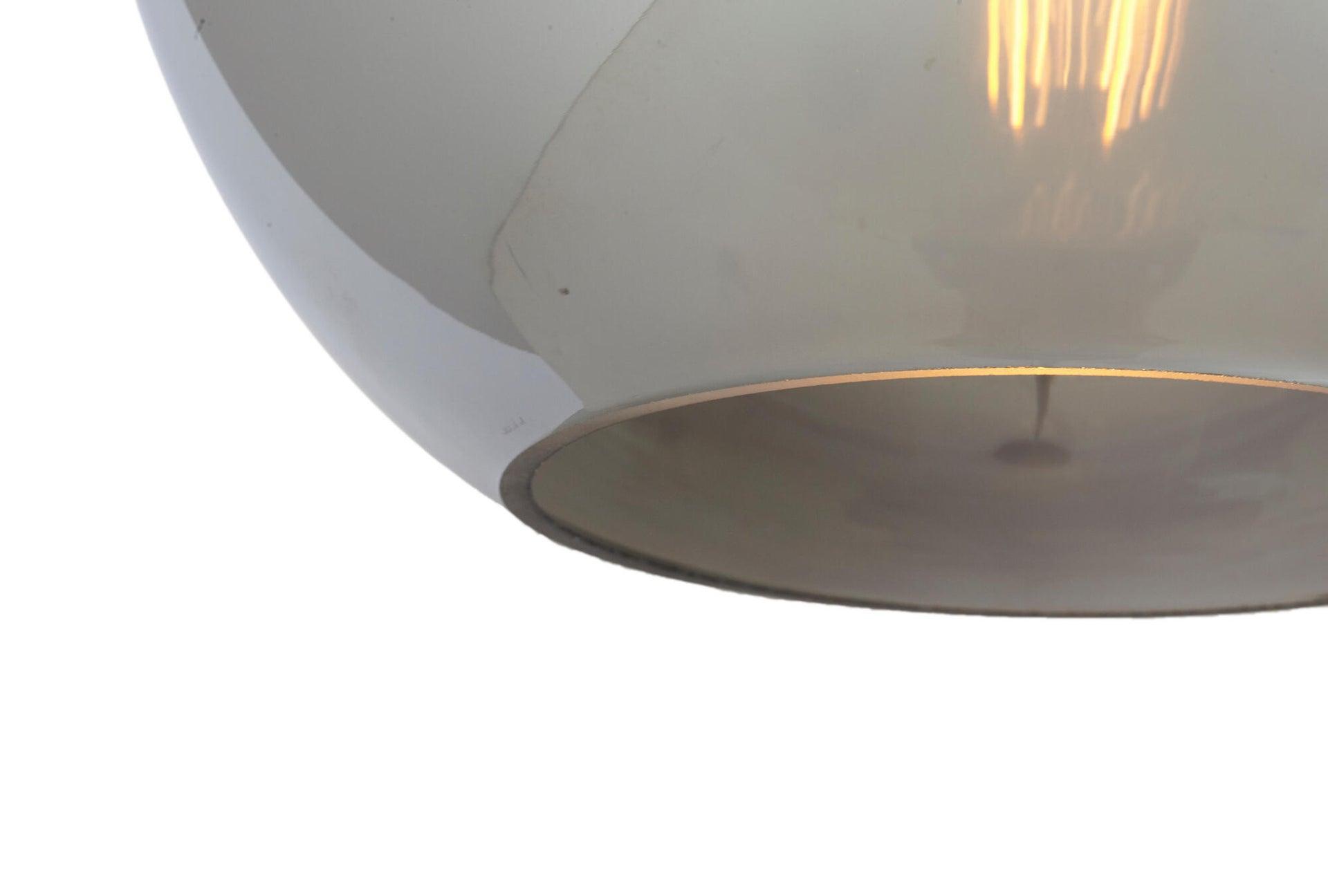 Lampadario Glamour Rina canna di fucile in cristallo, D. 30 cm, L. 30 cm, INSPIRE - 10