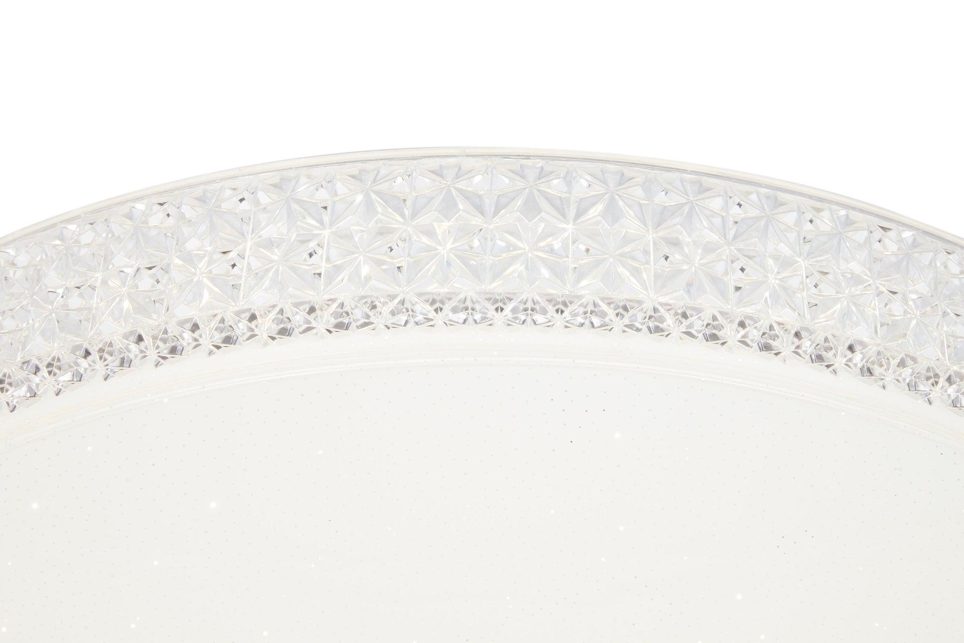 Plafoniera neoclassico Soledad LED integrato bianco D. 60 cm - 8