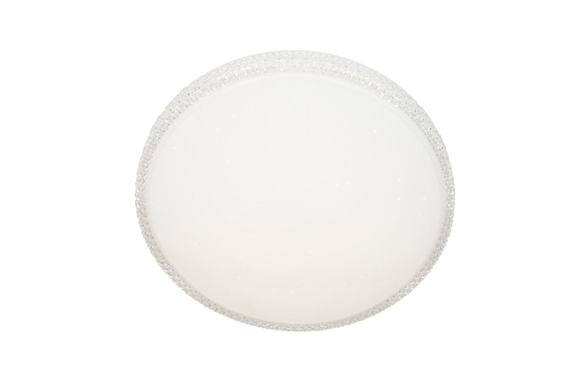 Plafoniera neoclassico Soledad LED integrato bianco D. 60 cm - 5