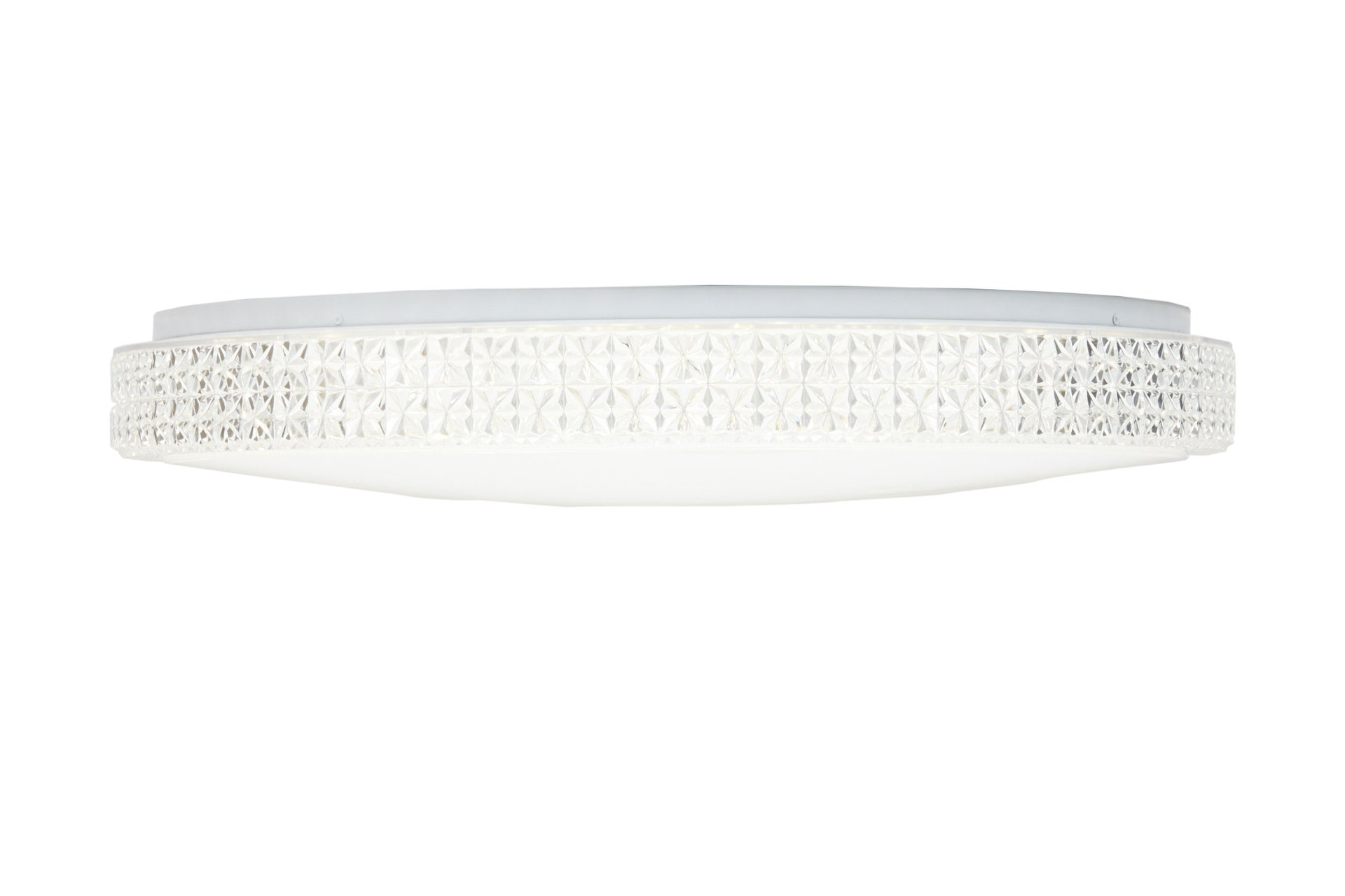 Plafoniera neoclassico Soledad LED integrato bianco D. 60 cm - 3