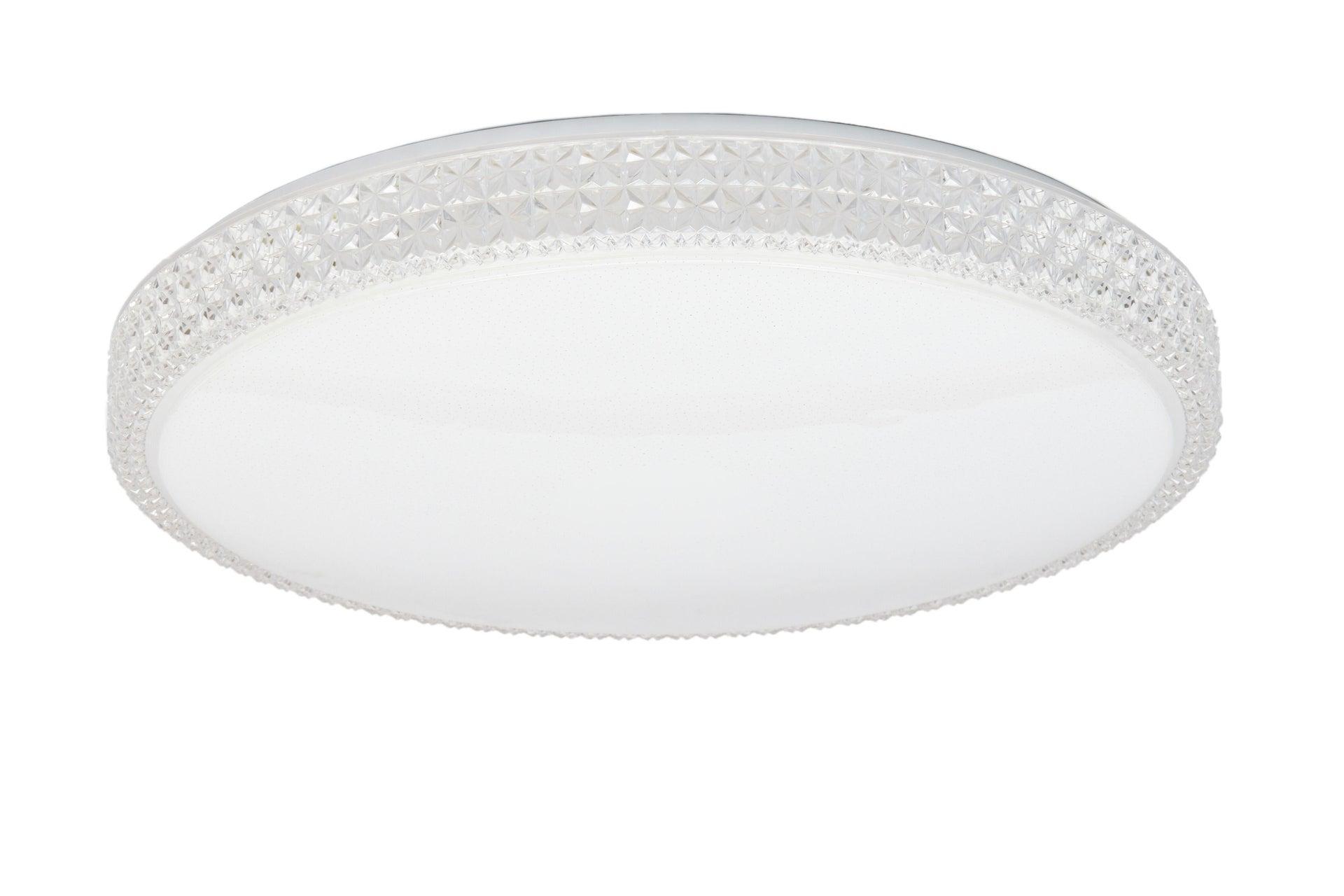 Plafoniera neoclassico Soledad LED integrato bianco D. 60 cm - 9