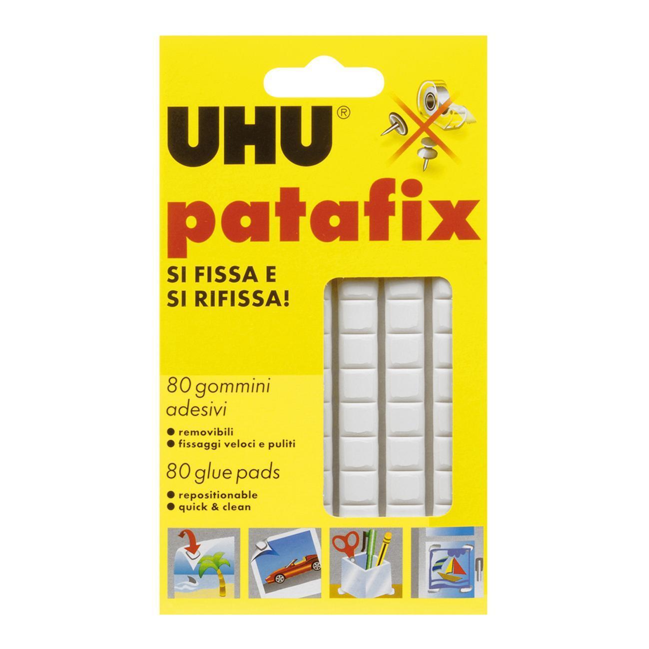 Pasta adesiva UHU Patafix 95 mm x 0.001 m