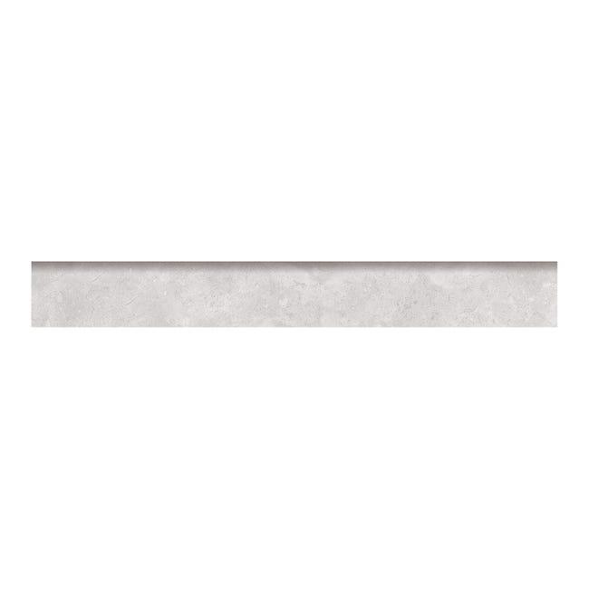 Battiscopa con becco a civetta Remix concrete H 7.5 x L 60 cm grigio - 1