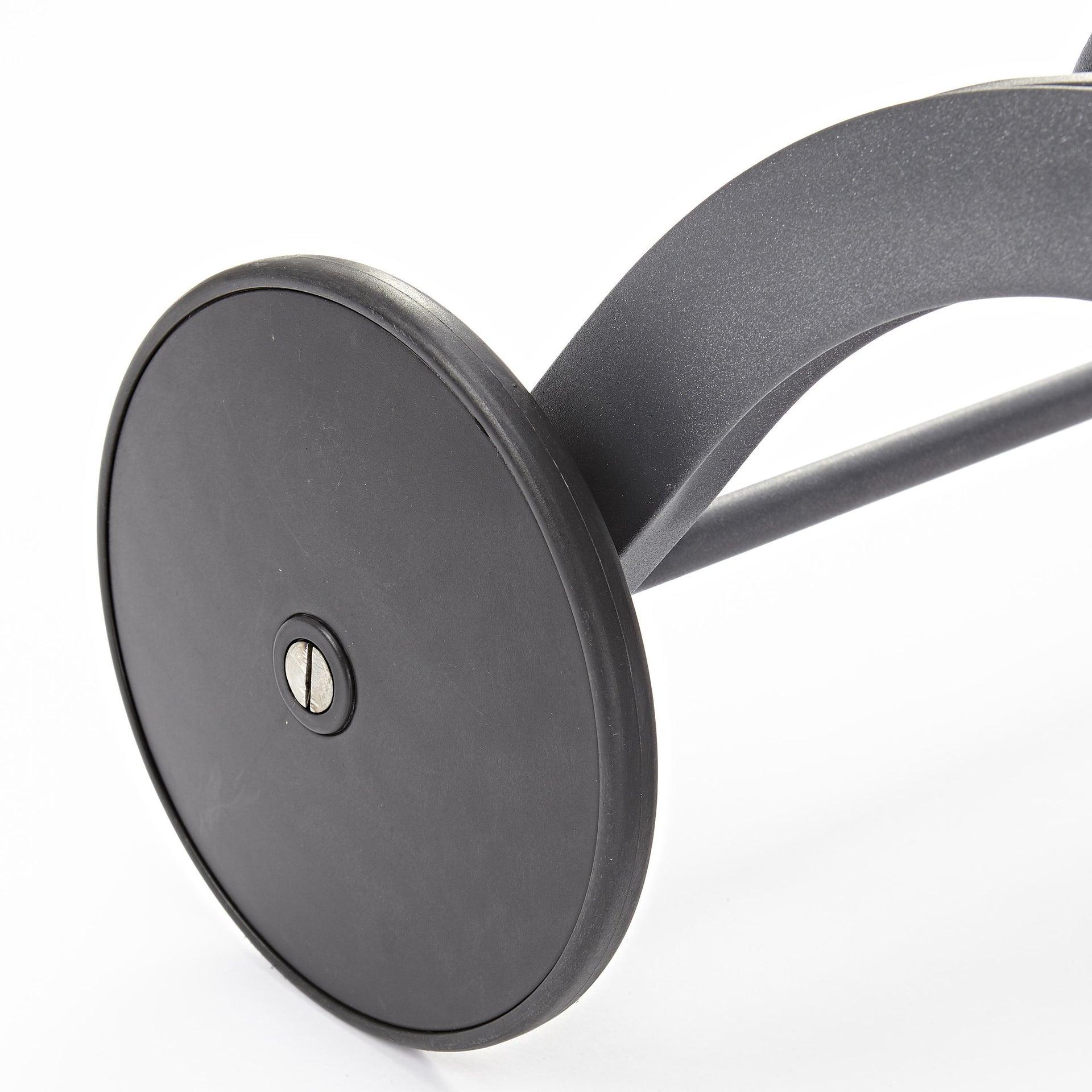 Lettino senza cuscino impilabile NATERIAL Lyra in alluminio grigio scuro - 14