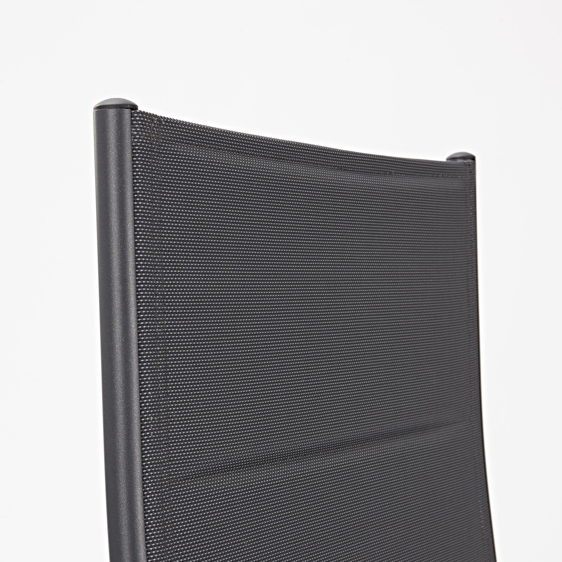 Sedia con braccioli senza cuscino pieghevole in alluminio Orion NATERIAL colore antracite - 3