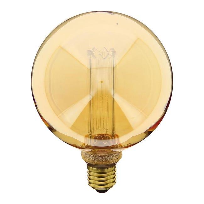 Lampadina decorativa LED, E27, Globo, Trasparente, Luce calda, 40W=200LM (equiv 40 W), 320° , XANLITE - 1