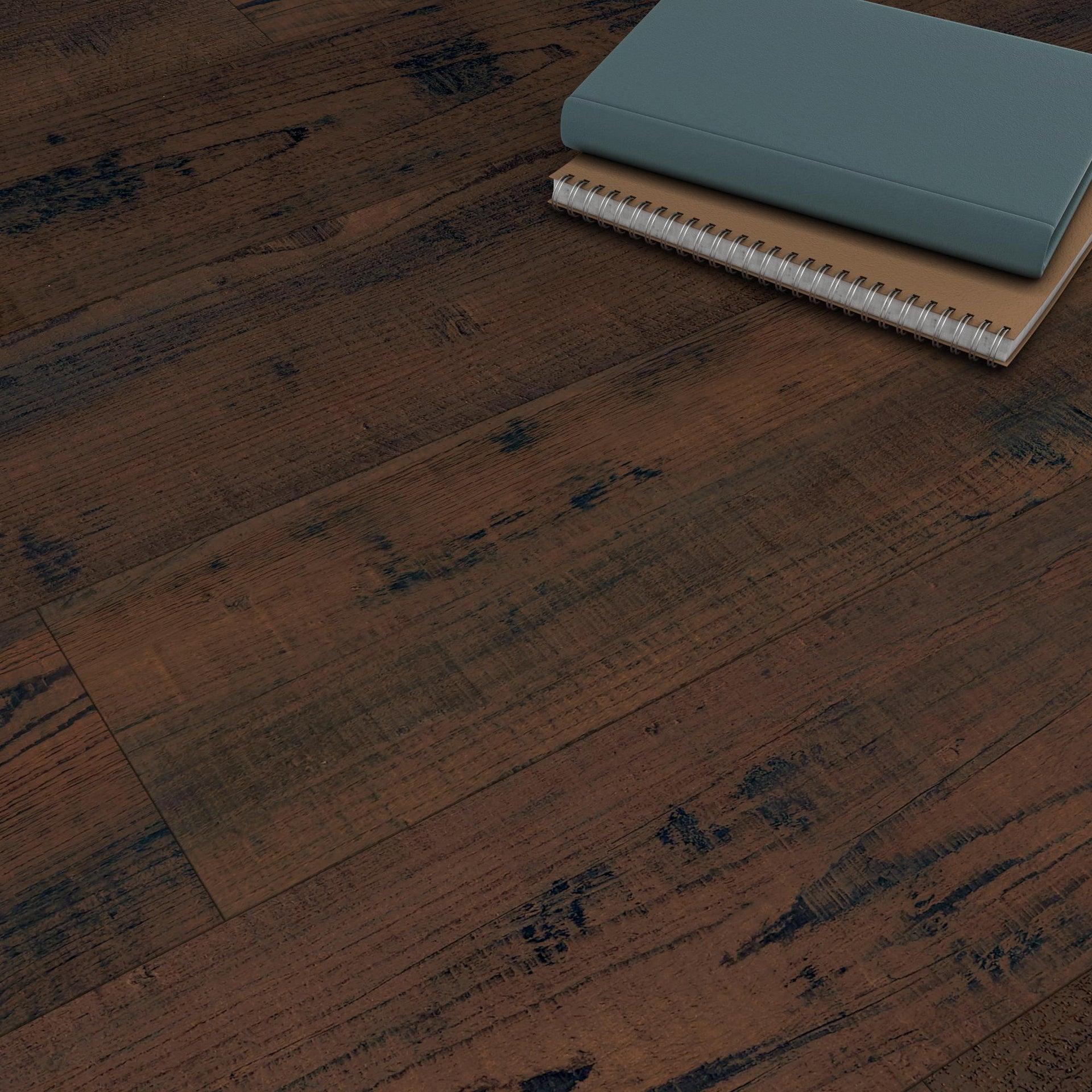 Pavimento PVC adesivo Tobacco Sp 2 mm marrone - 6