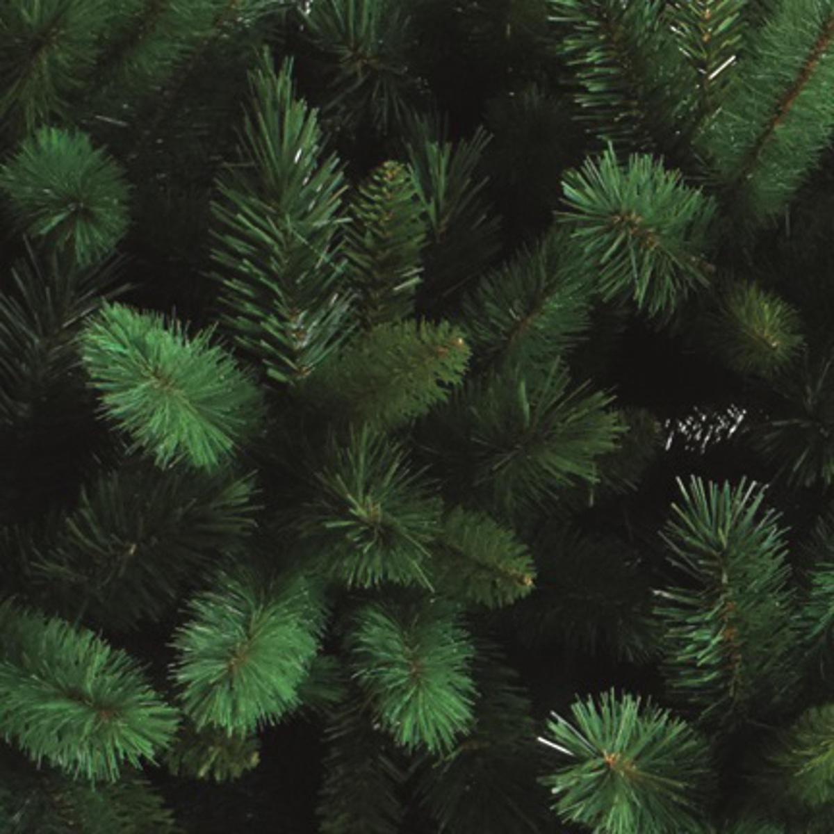 Albero di natale artificiale Livigno verde H 210 cm, - 4