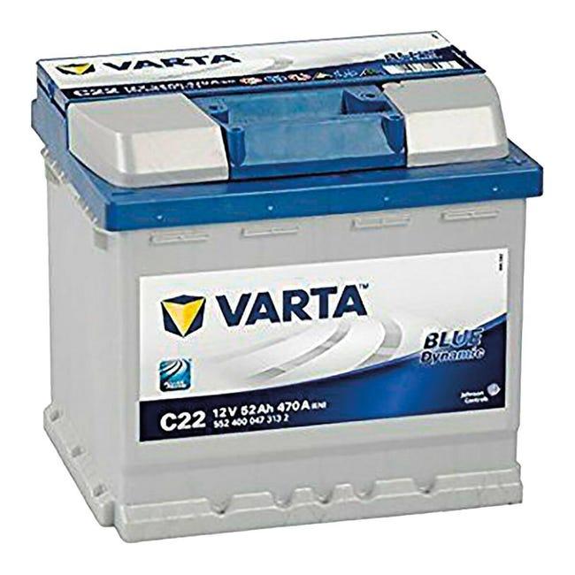 Batteria VARTA Blue Dynamic C22 470 in piombo 12 V 52 Ah - 1