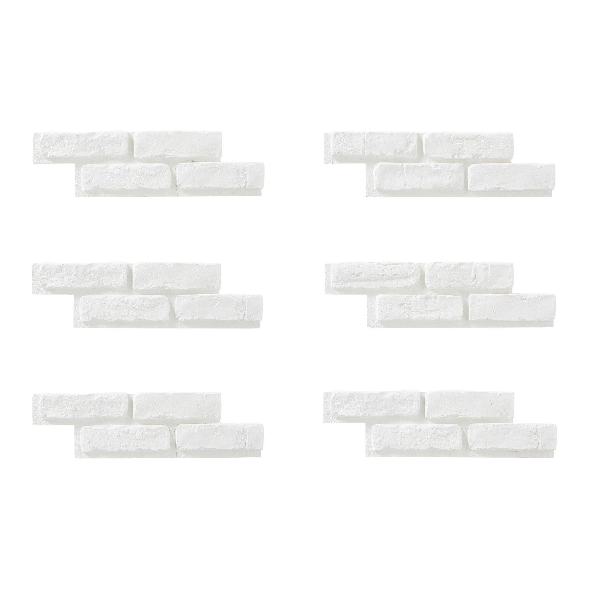 Mattone decorativo Isto bianco - 7