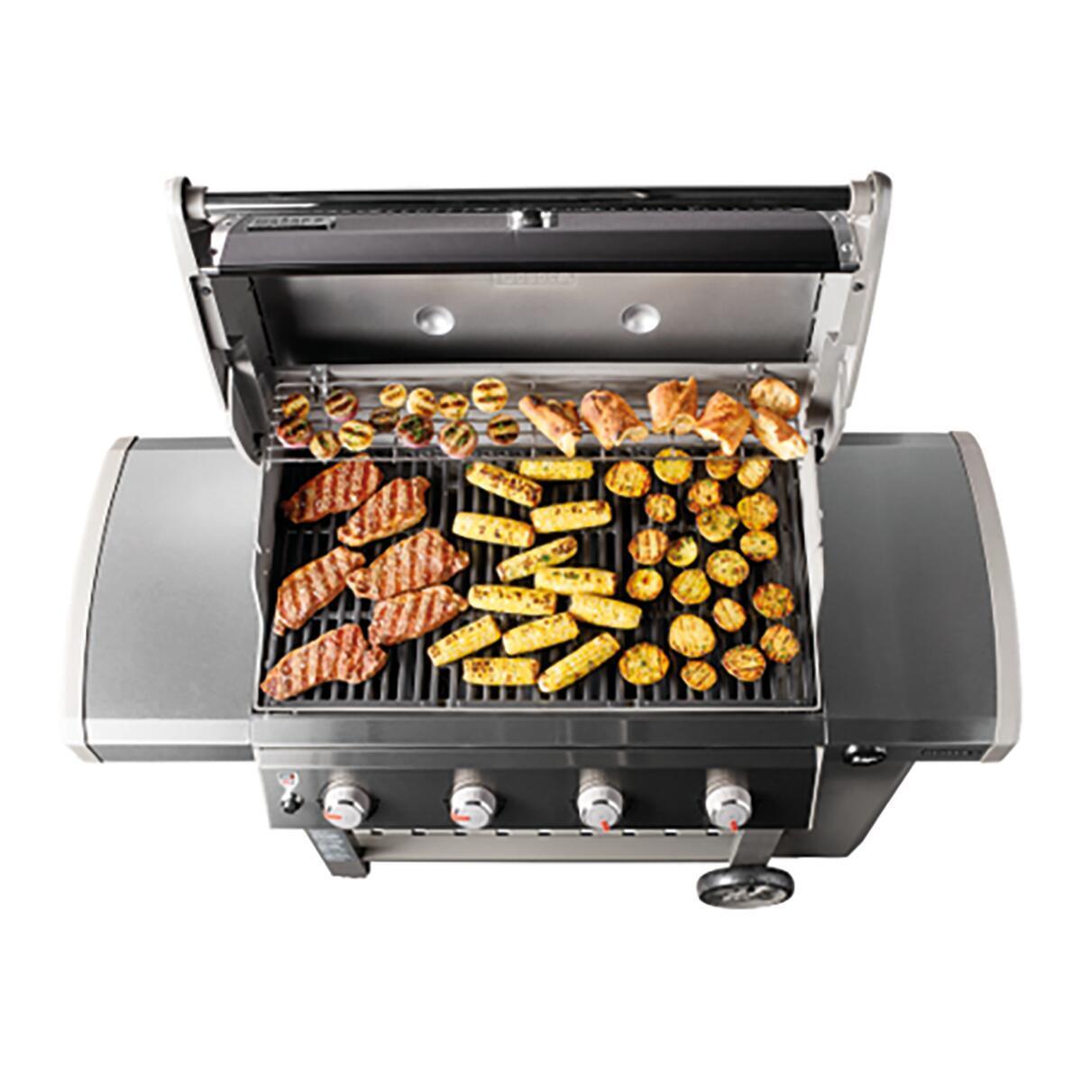 Barbecue a gas WEBER Genesis II E-410 GBS 4 bruciatori - 5